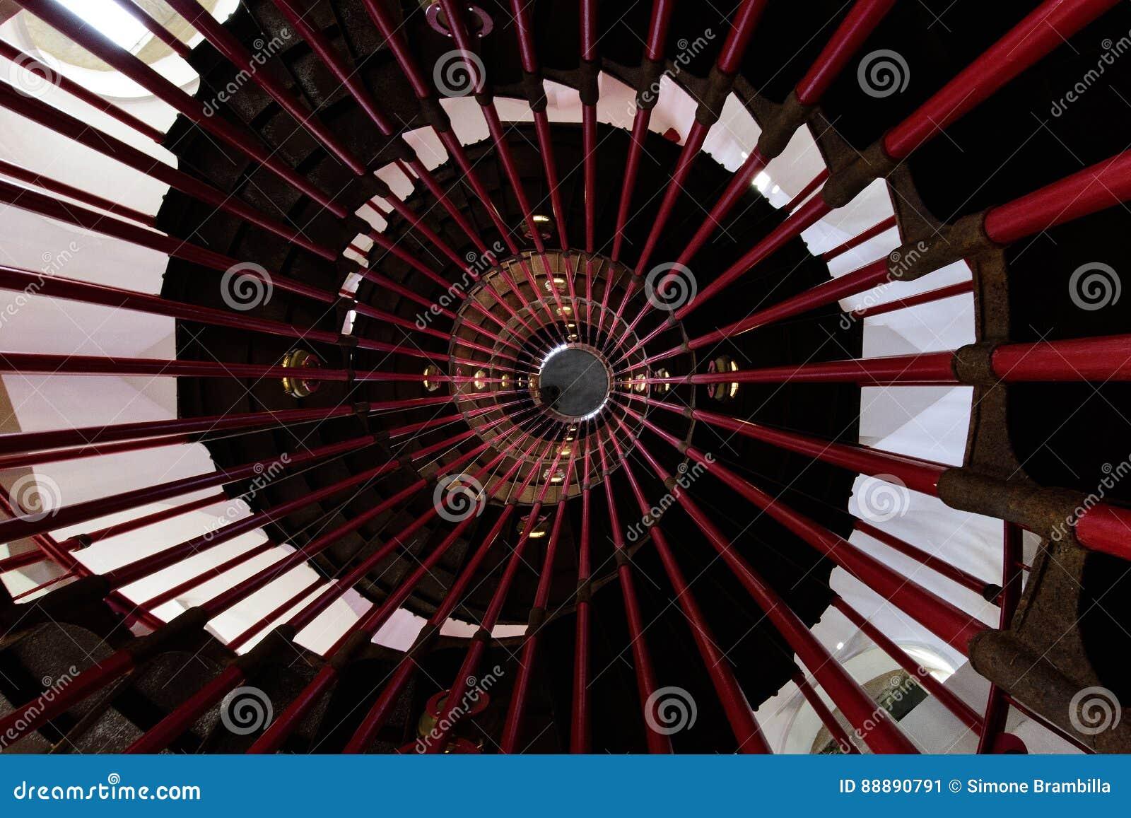 Na torre & no x28; staircase& espiral x29;