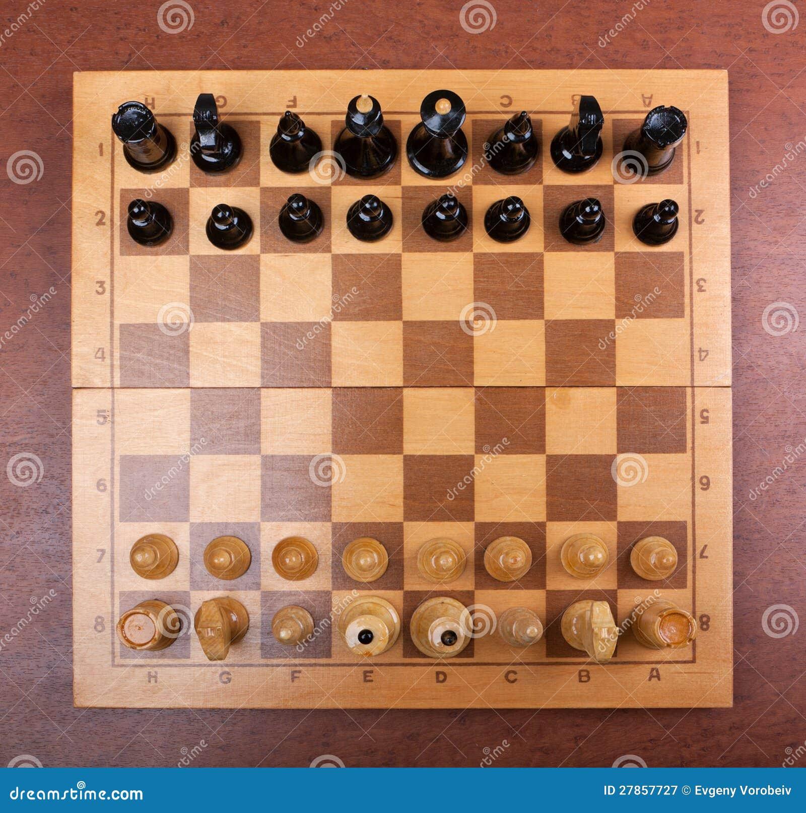 Na wierzchołku szachy deska