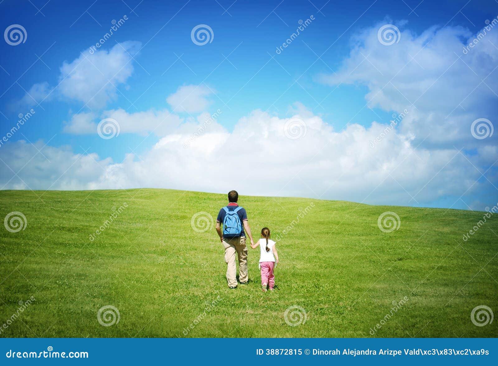 Na wycieczce z ojcem