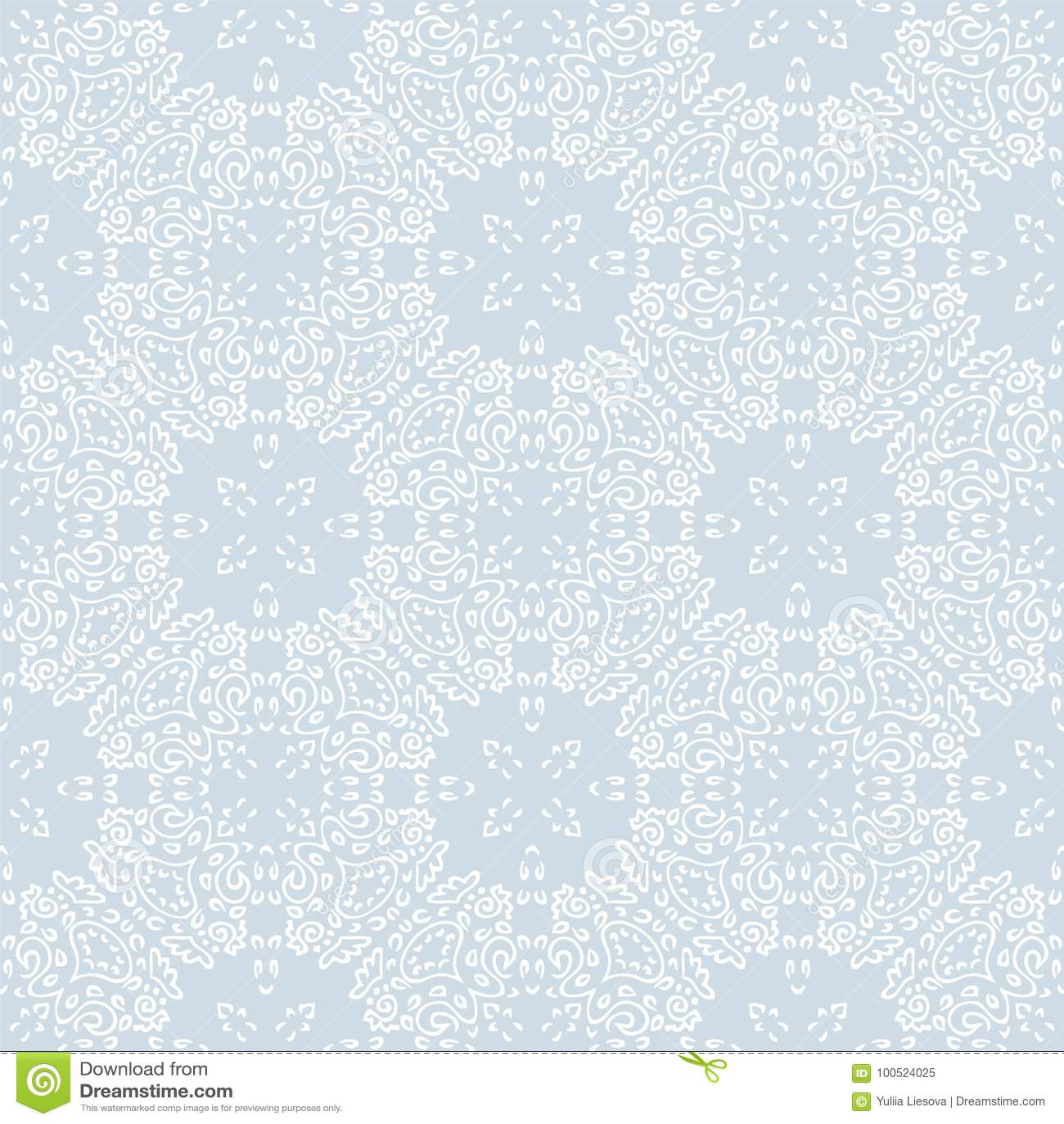 Naadloos abstract meisje als achtergrond van overladen patroon