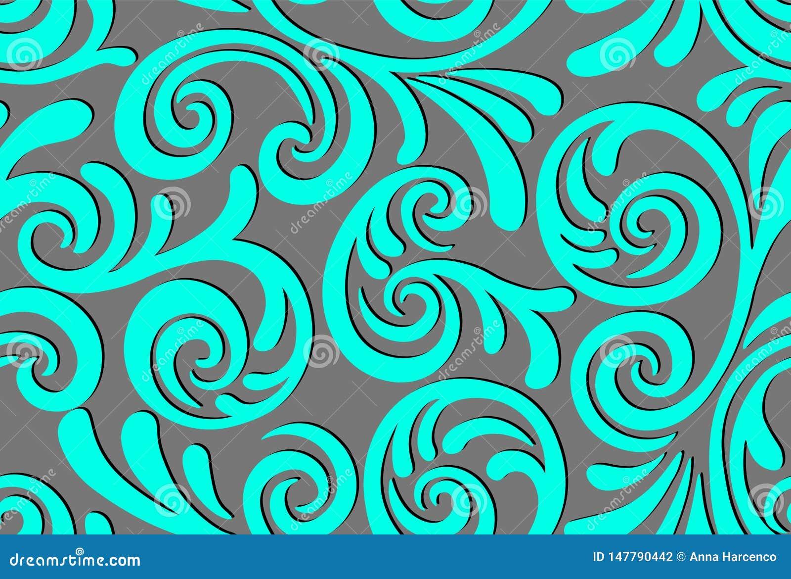 Naadloos abstract patroon als achtergrond Decoratieve achtergrond voor stof, textiel, verpakkend document, kaart, uitnodiging, be