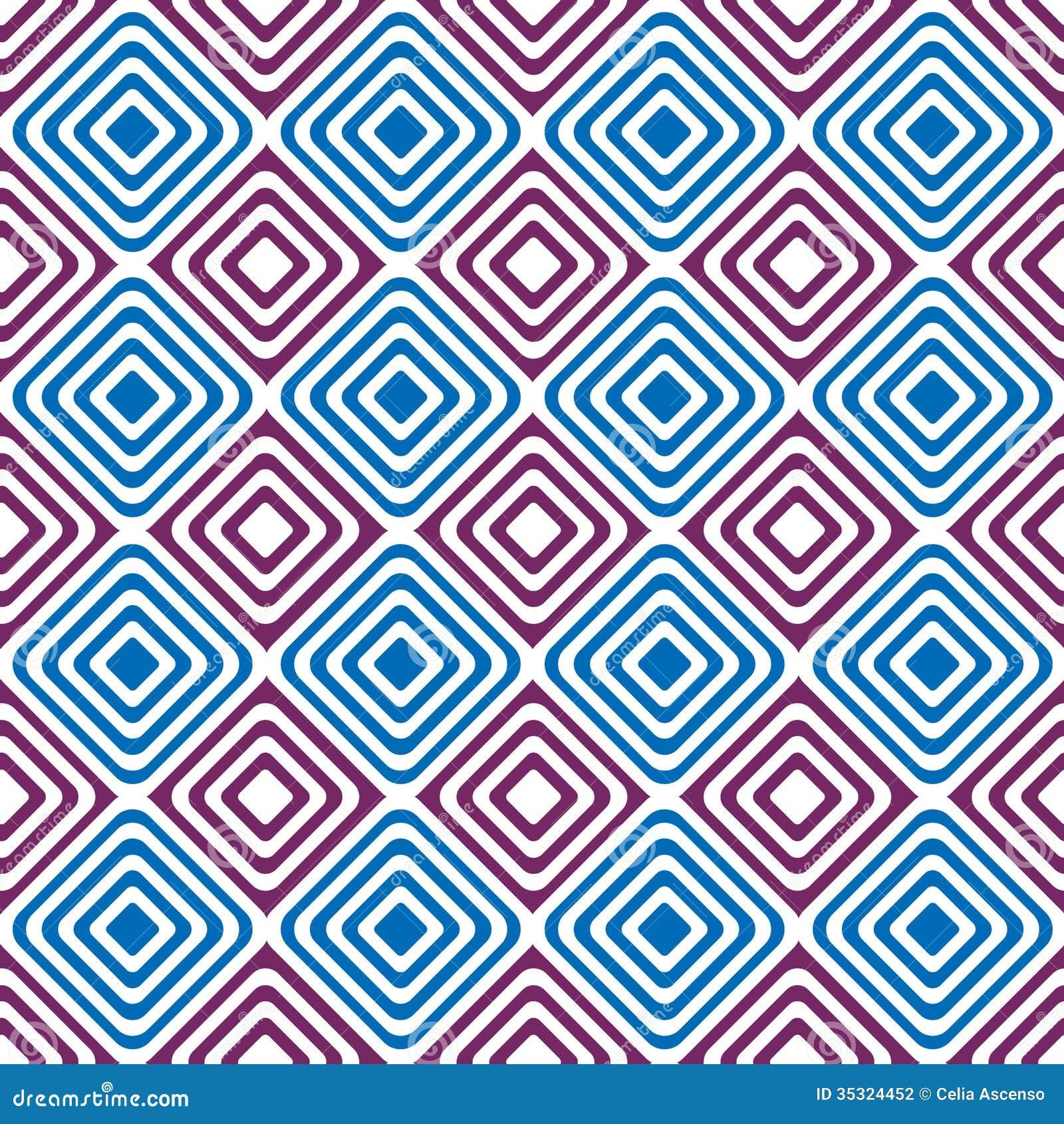Naadloos diamanten backgound patroon