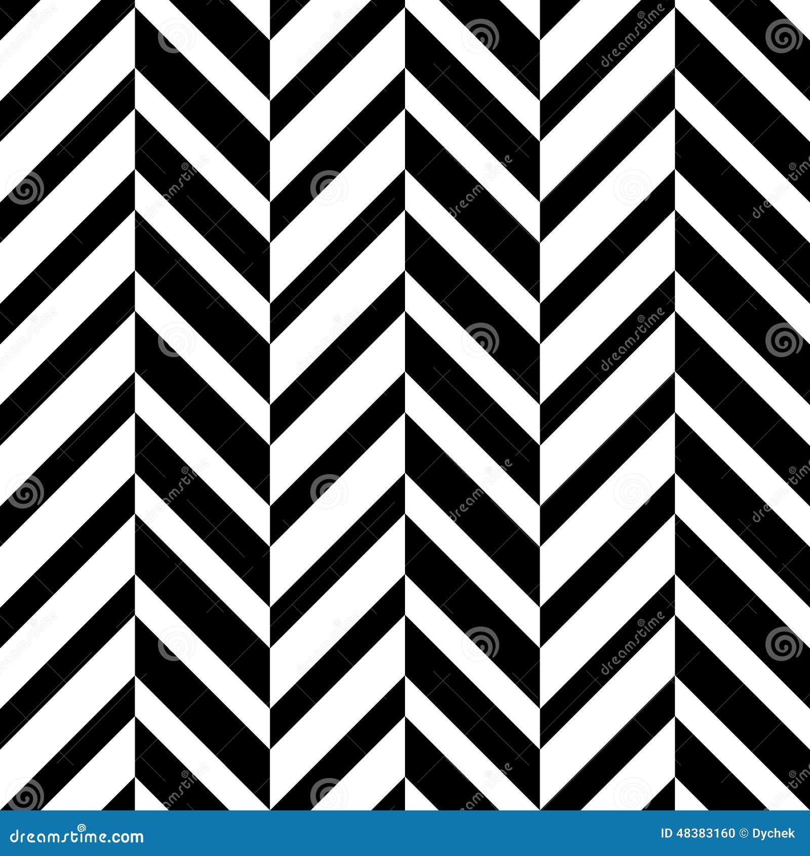 Naadloos optisch zigzagpatroon