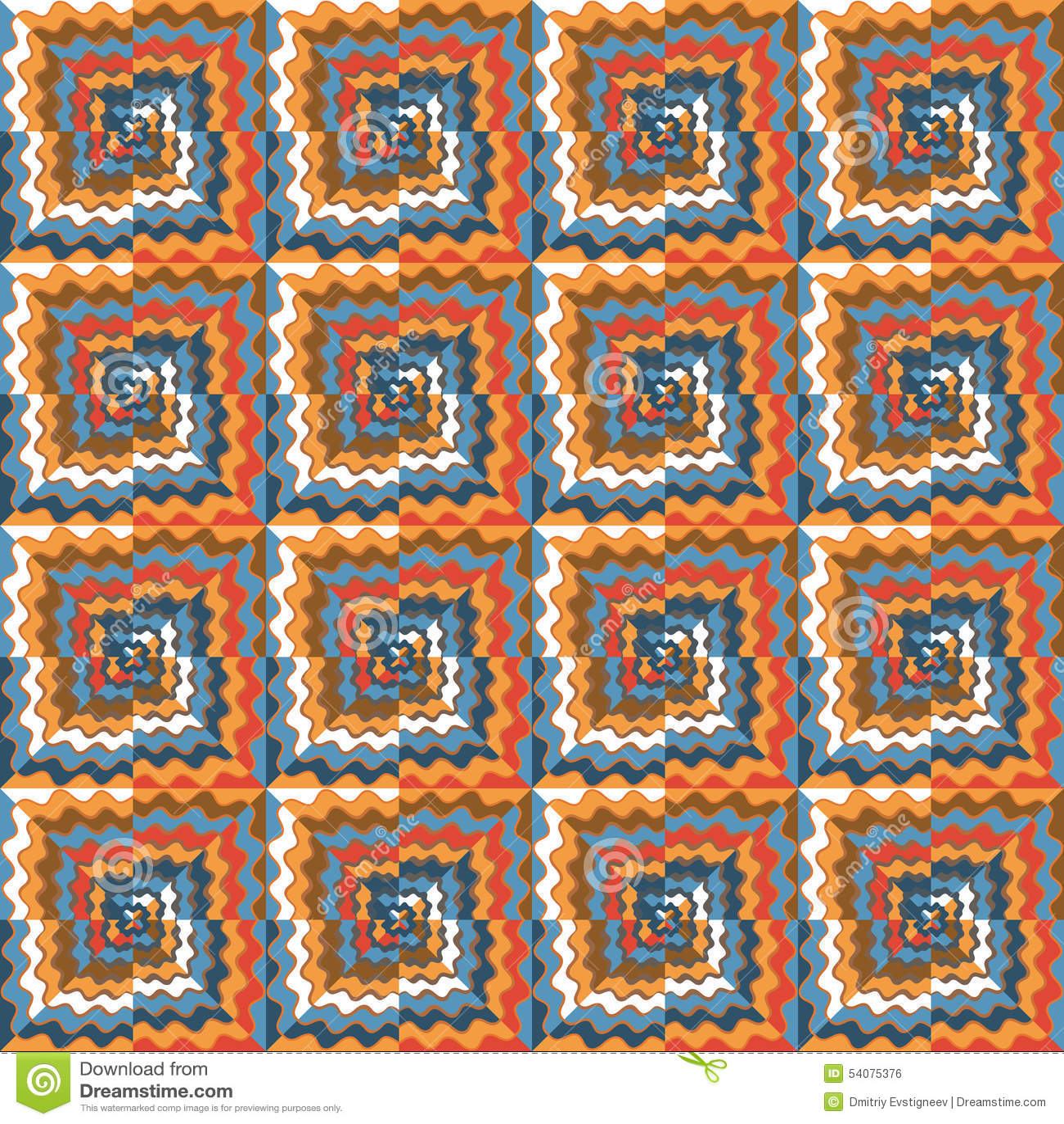 Naadloos patroon