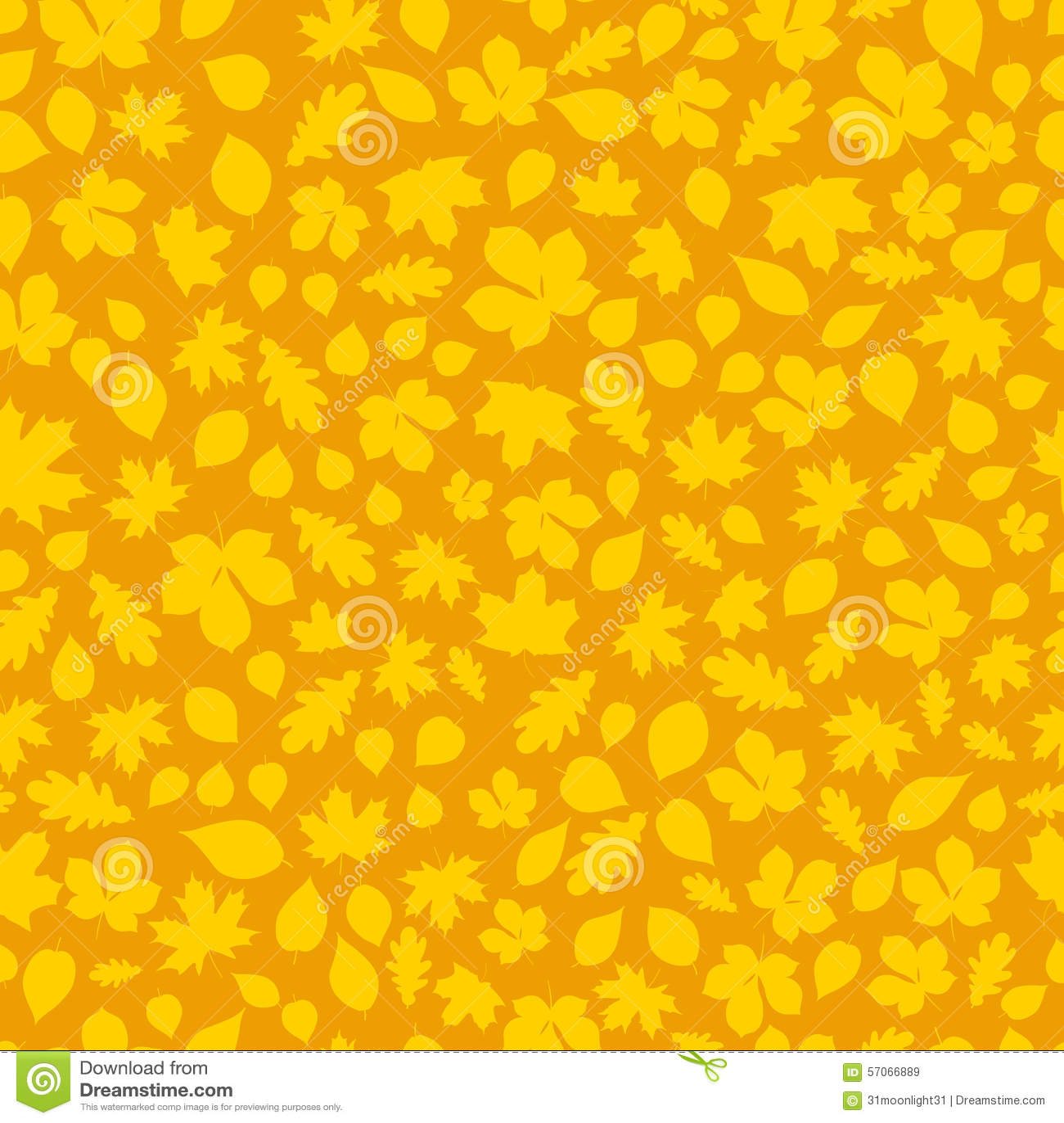 Naadloos patroon van de bladeren van de Herfst Dit is een 4 tegelherhaling van het patroon