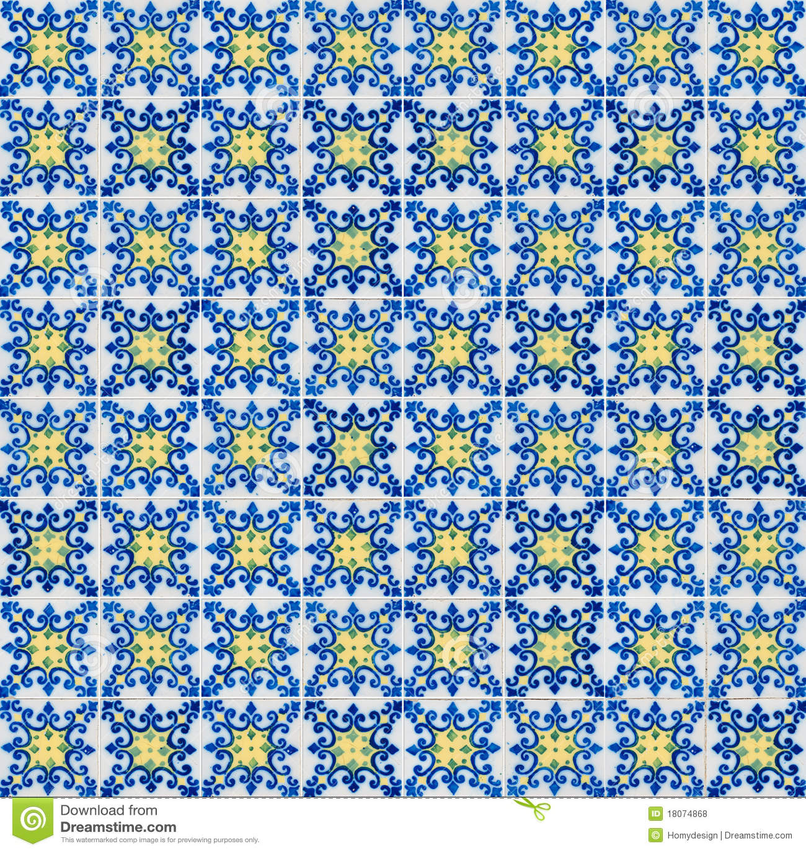 Naadloos tegelpatroon stock foto afbeelding bestaande uit bouw 18074868 - Oude patroon tegel ...