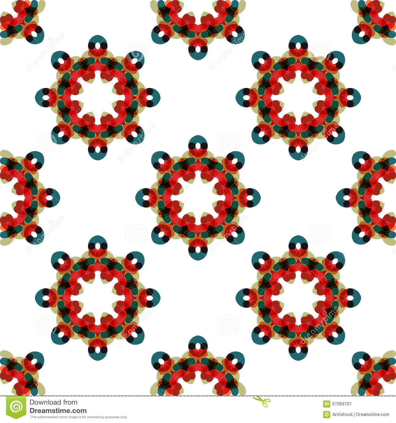 Naadloos vector geometrisch abstract patroon