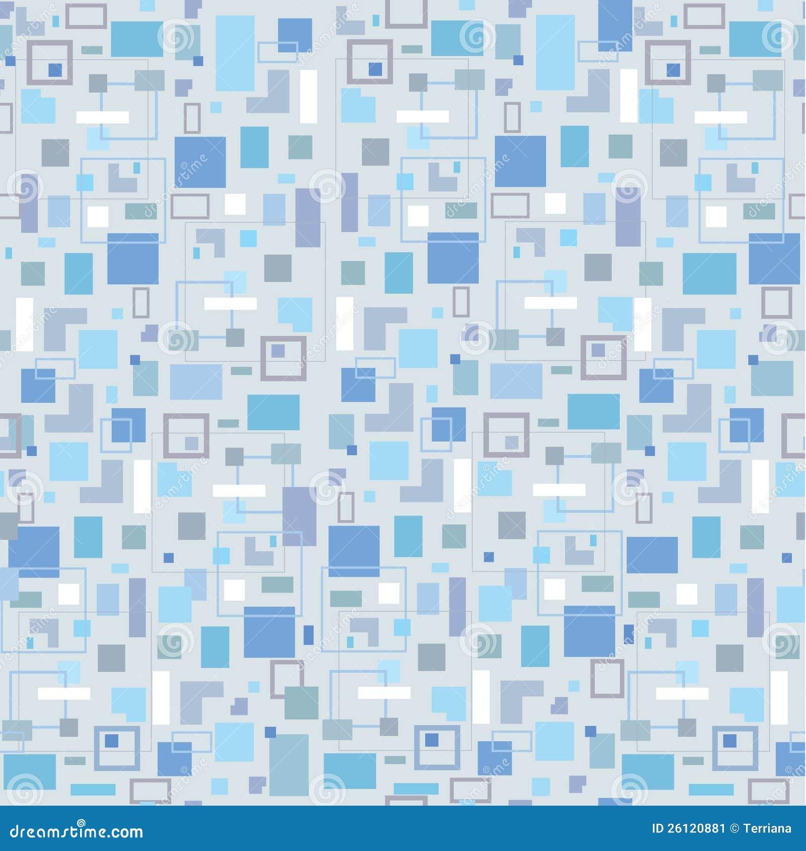 Naadloze achtergrond met grijze vierkanten stock afbeelding afbeelding 26120881 - Grafiek blauw grijze verf ...
