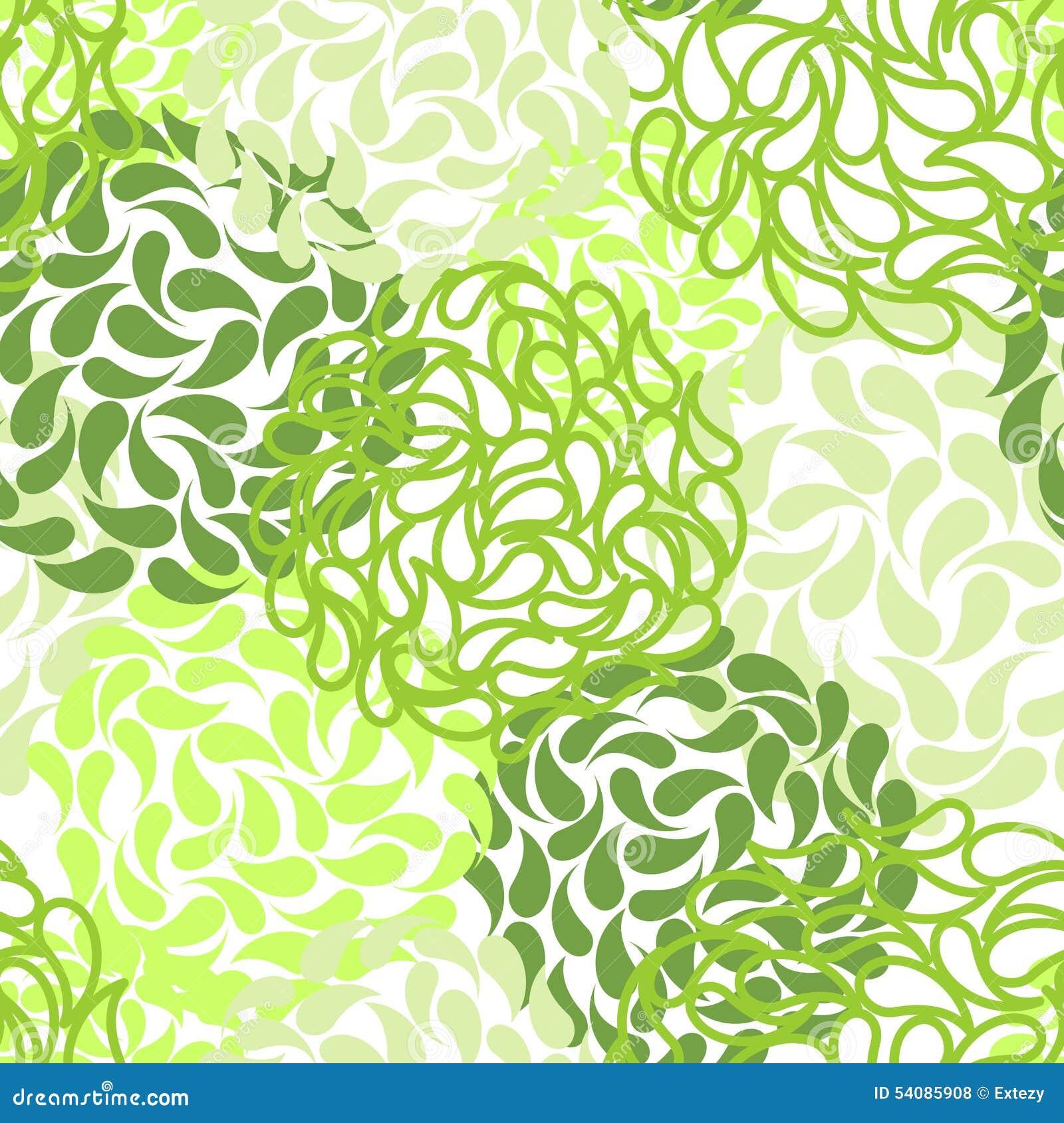 Naadloze bloemenachtergrond De abstracte vector van de kleur