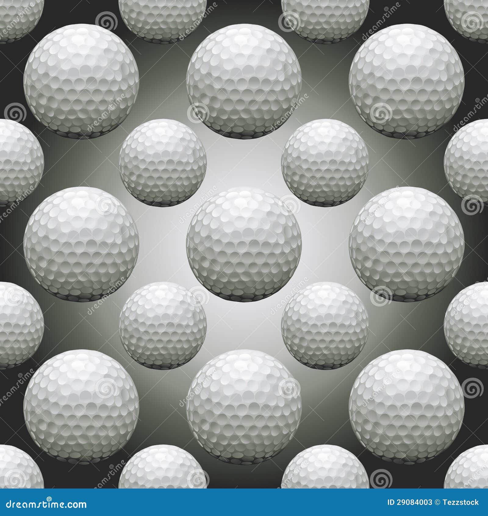 Naadloze golfballen vector illustratie afbeelding bestaande uit grafisch 29084003 - Behang grafisch ontwerp ...