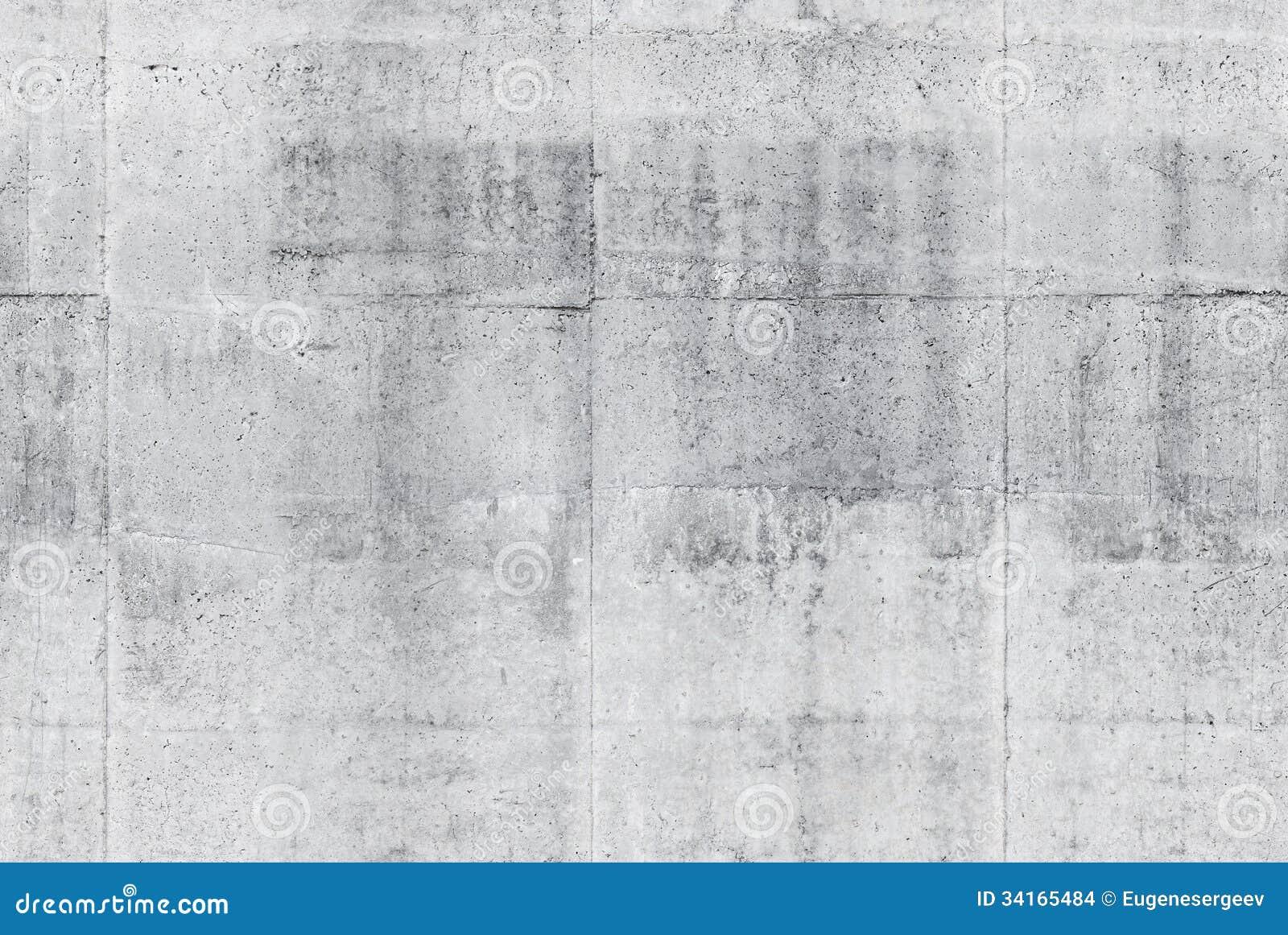 Naadloze grijze concrete muurtextuur als achtergrond