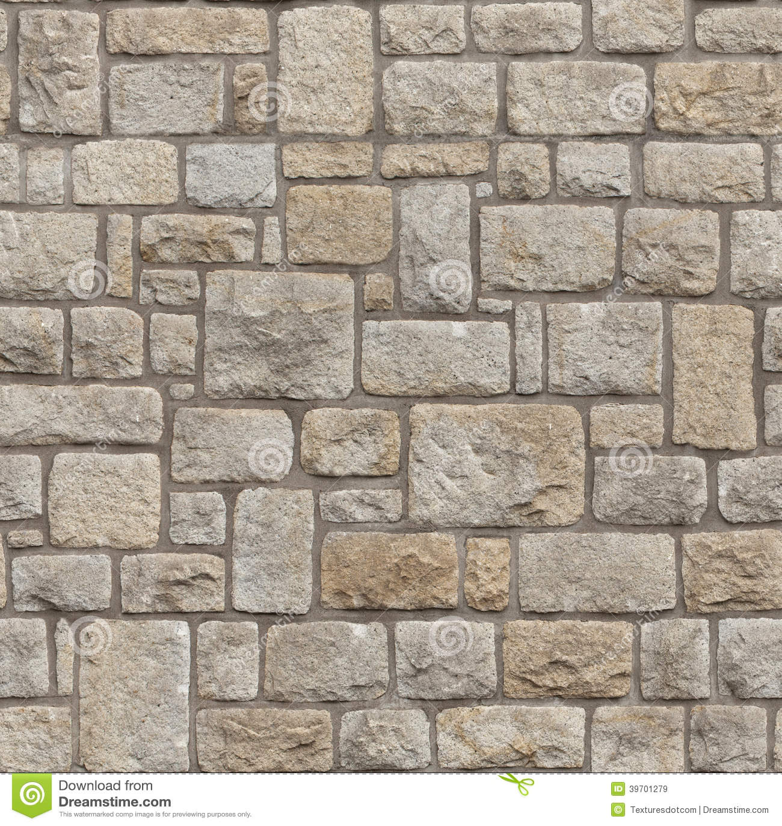Naadloze Middeleeuwse bakstenen muur