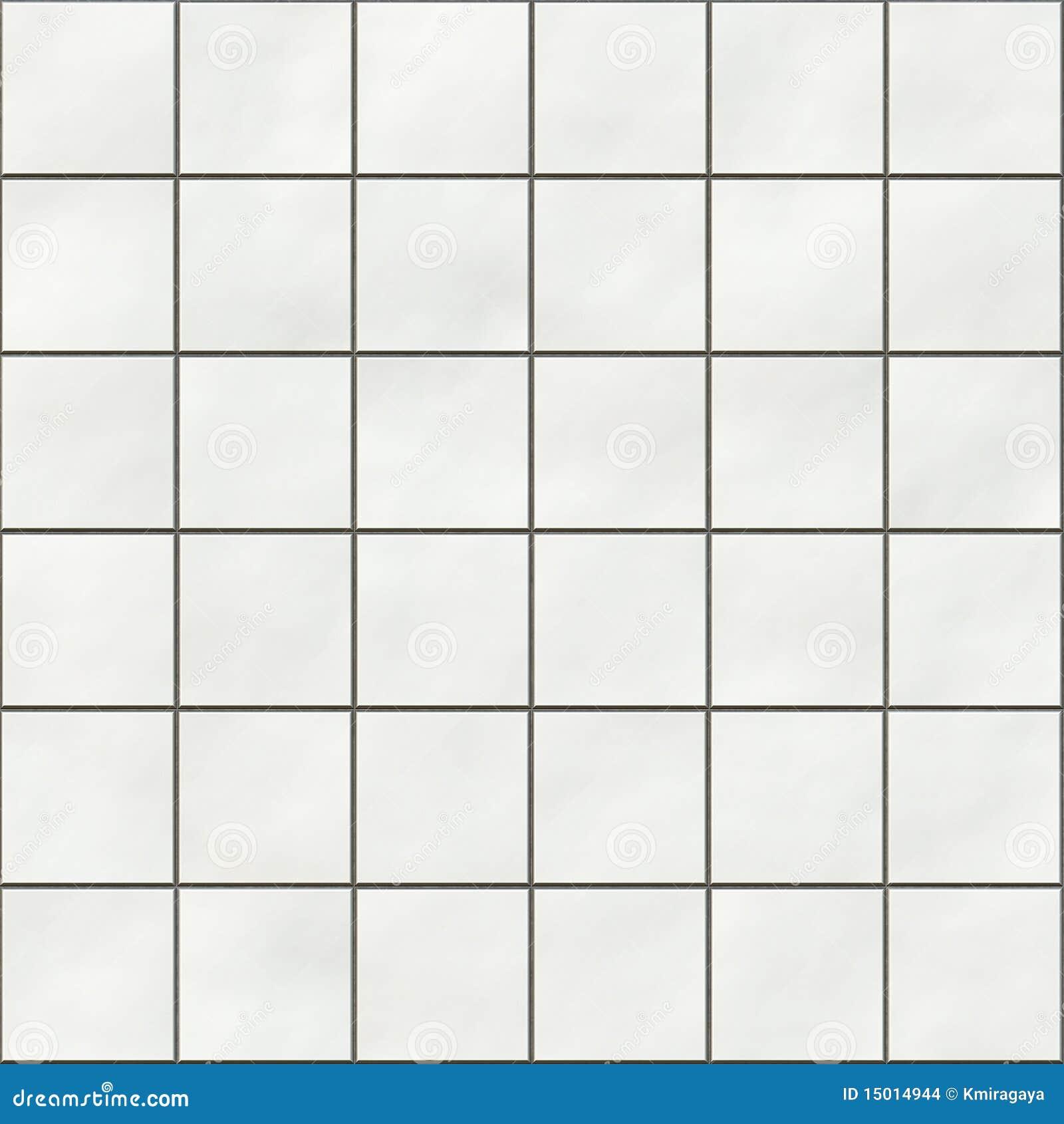 naadloze witte vierkante tegels 15014944 - Behang Toilet