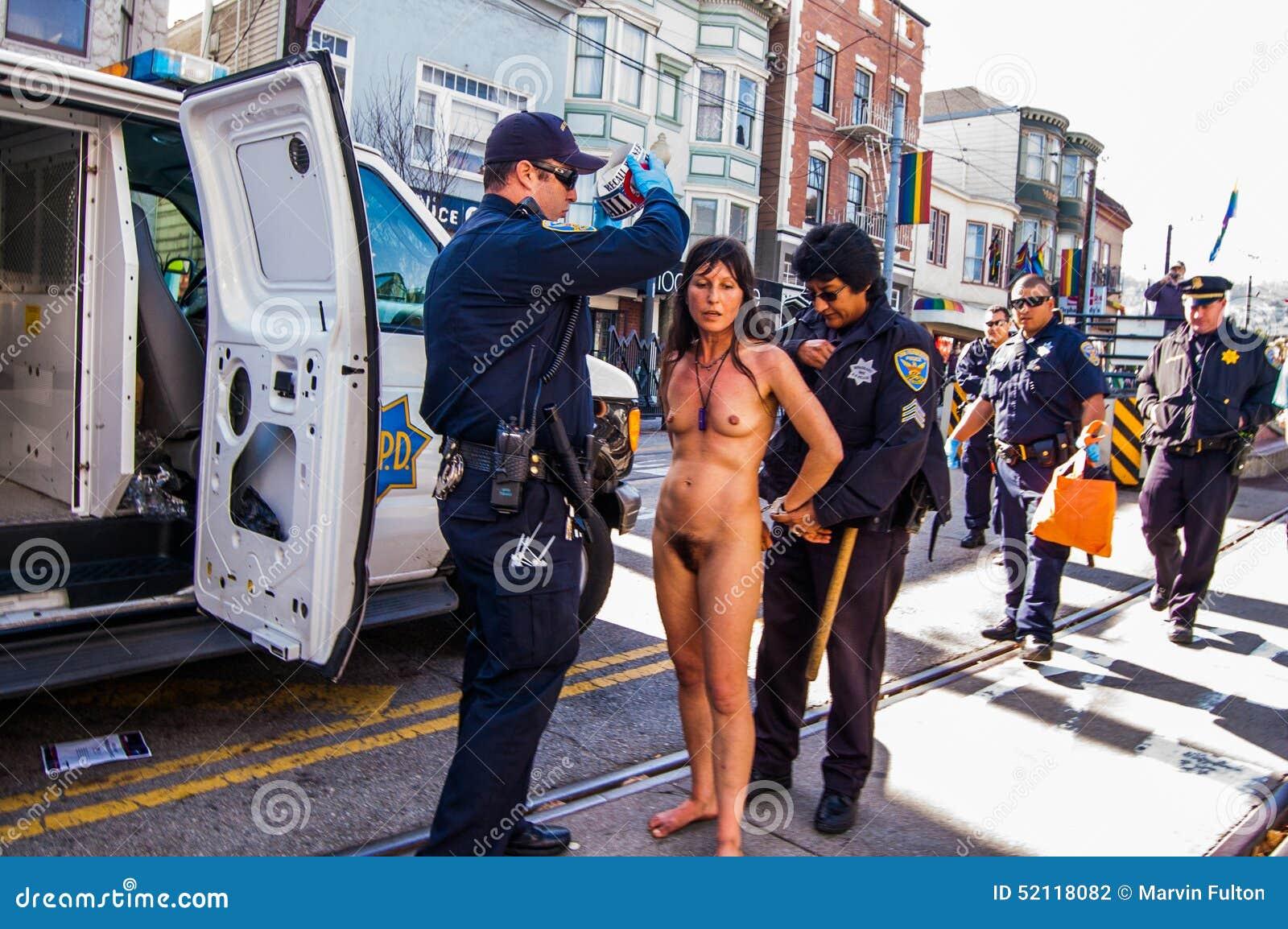 naked women san francisco