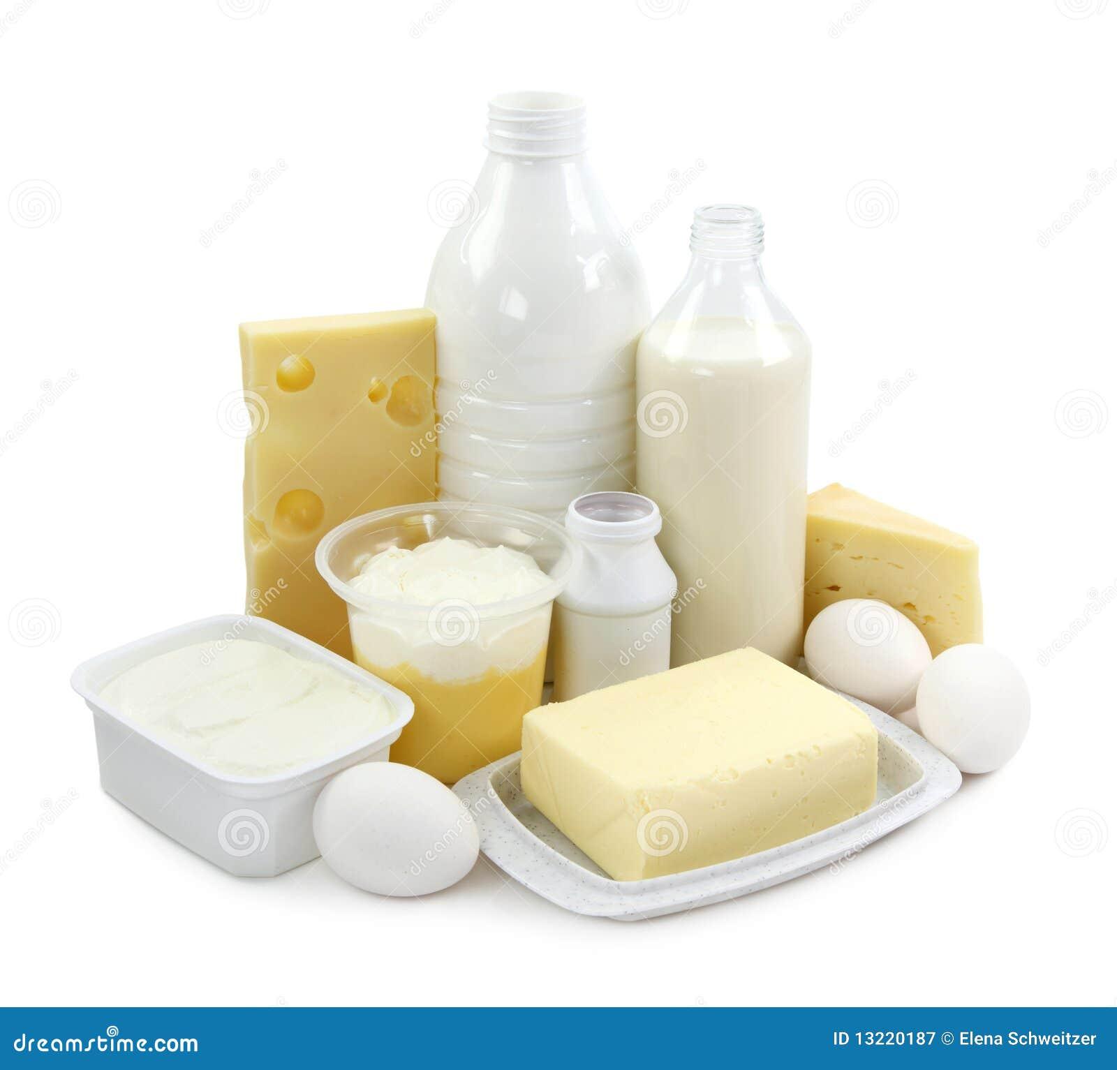Nabiału jajek produkty
