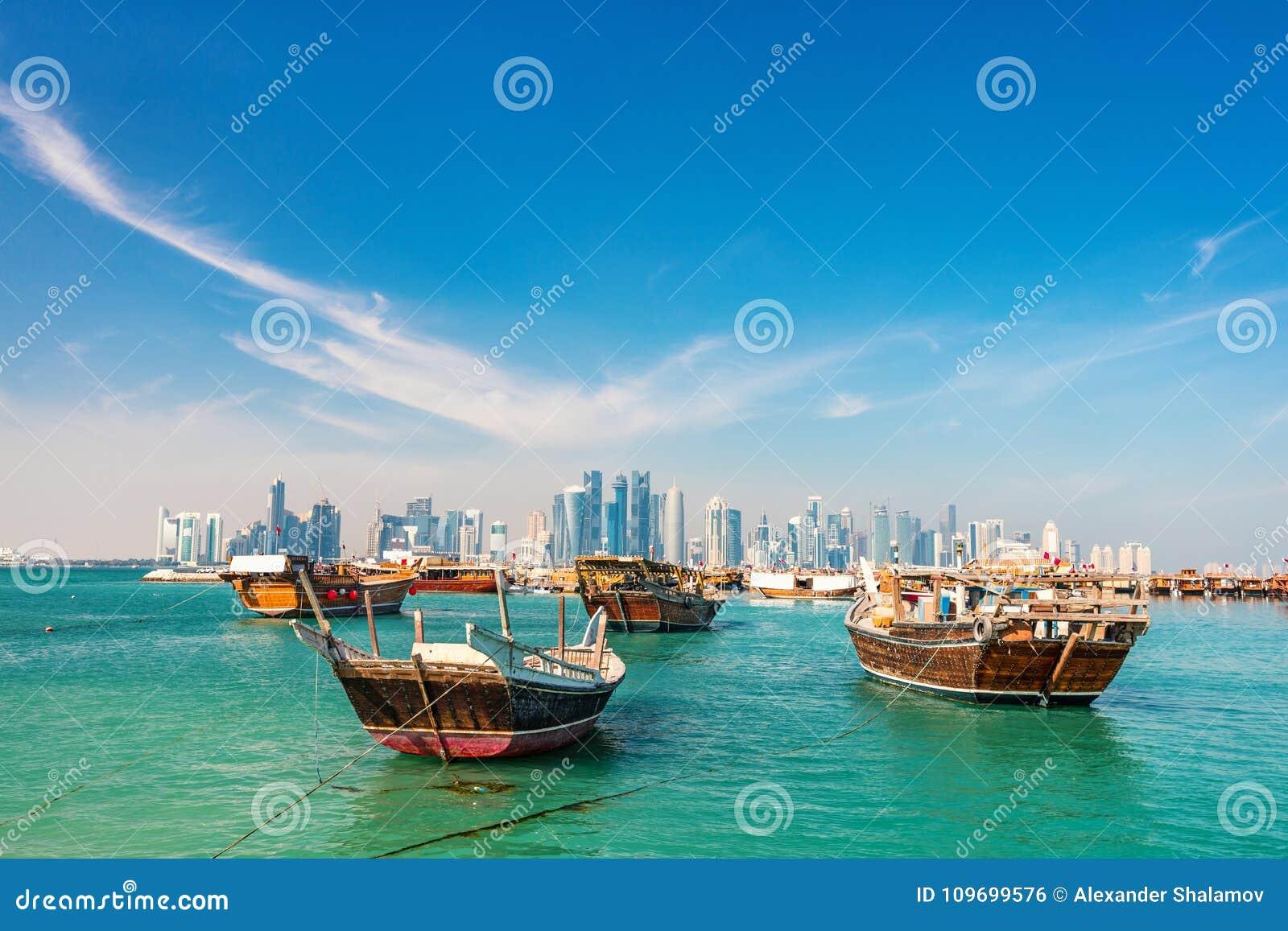 Nabrzeże w Doha