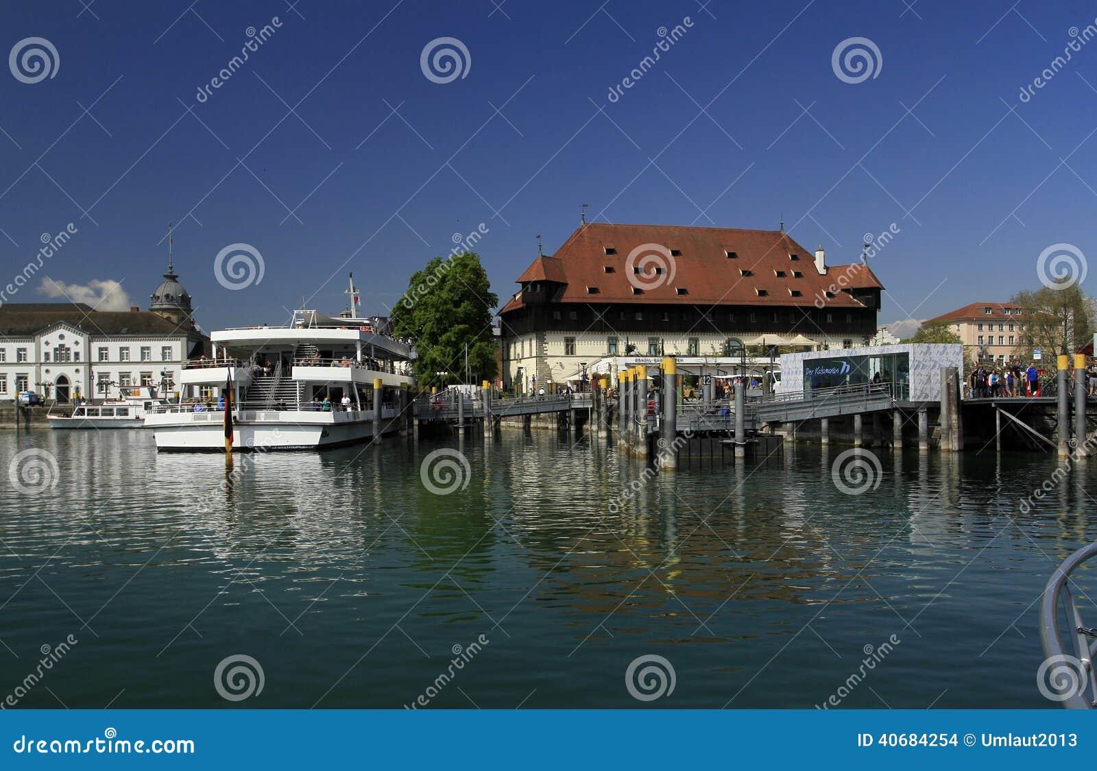 Nabrzeże w porcie Konstanz