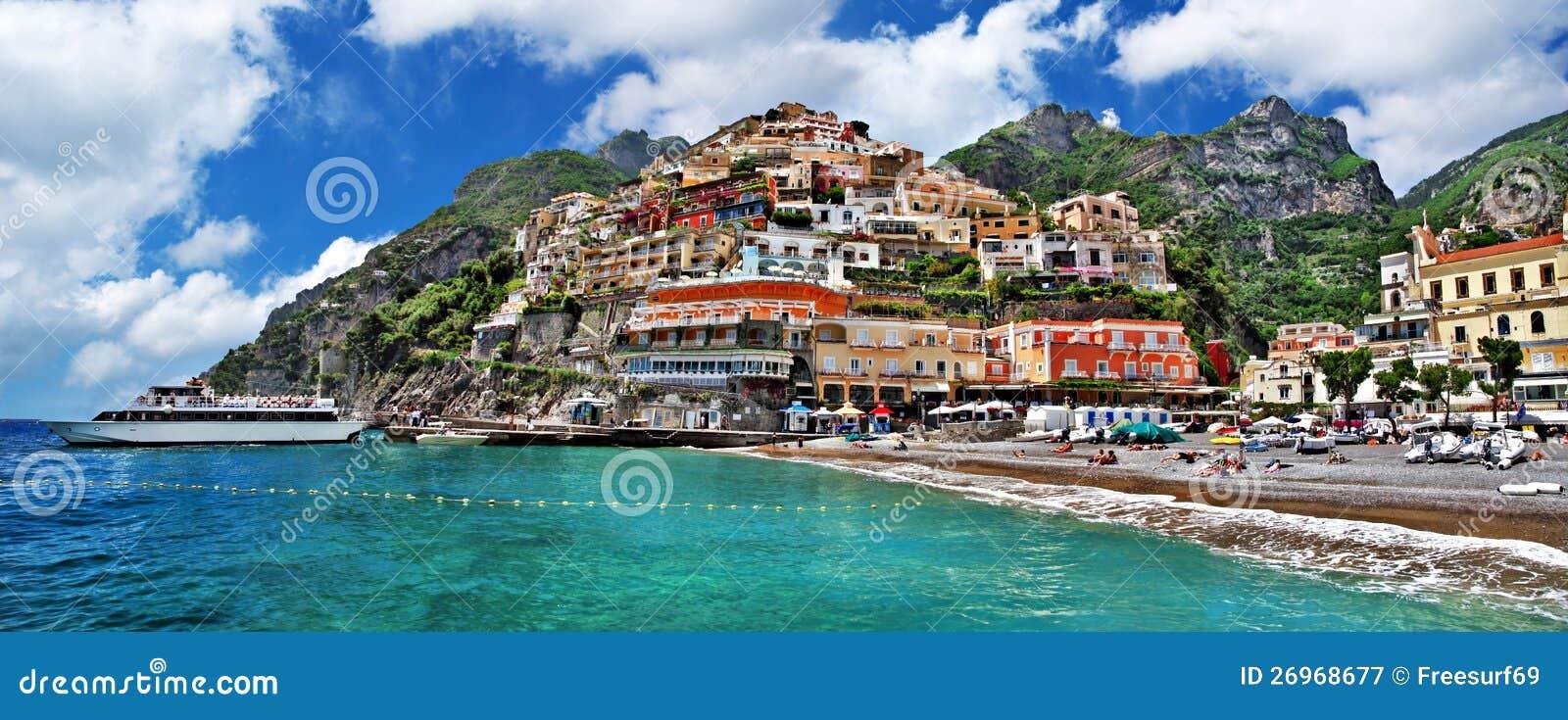Nabrzeżny Włochy Positano -