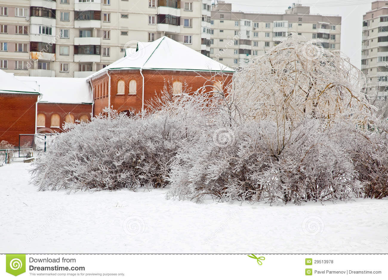 nach dem winter eisregen st dtische landschaft stockfoto bild von pfad kalt 29513978. Black Bedroom Furniture Sets. Home Design Ideas