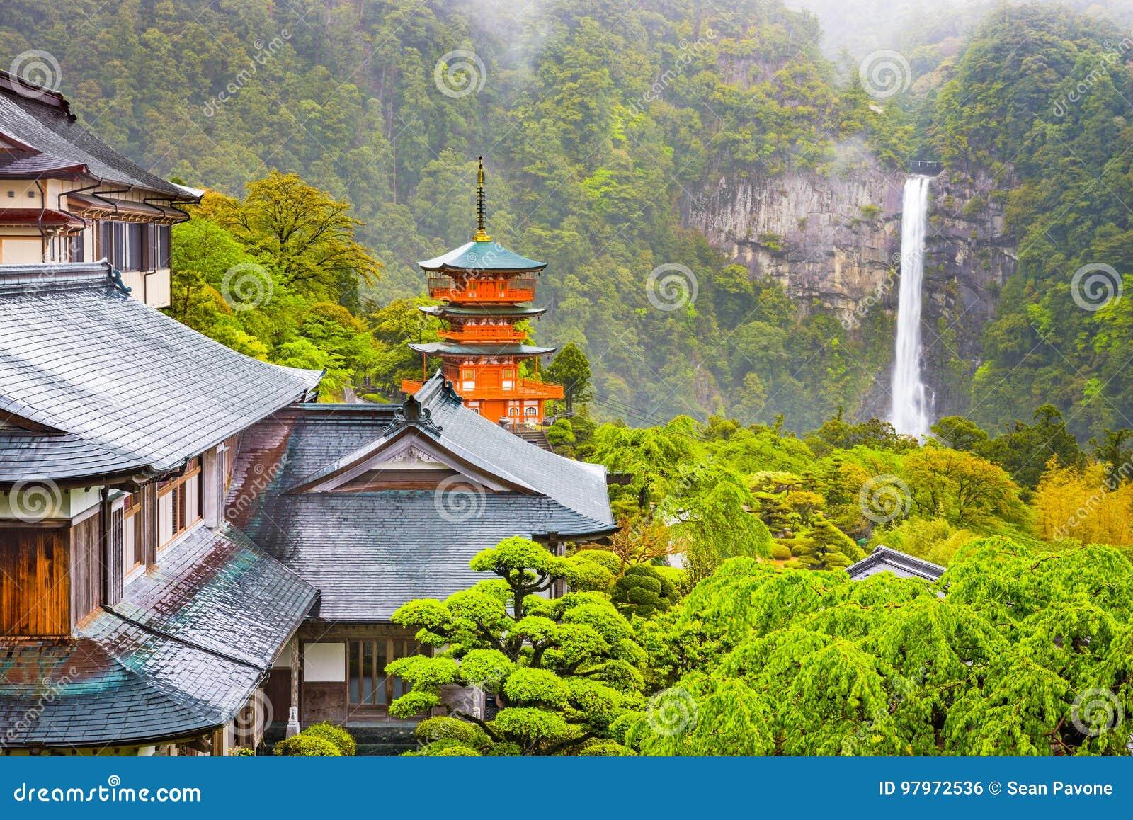 Nachi, Japonia pagoda