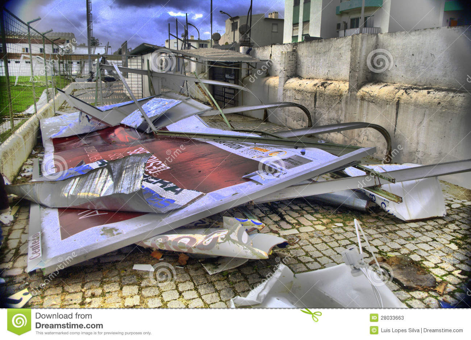 Nachmahd des Tornados