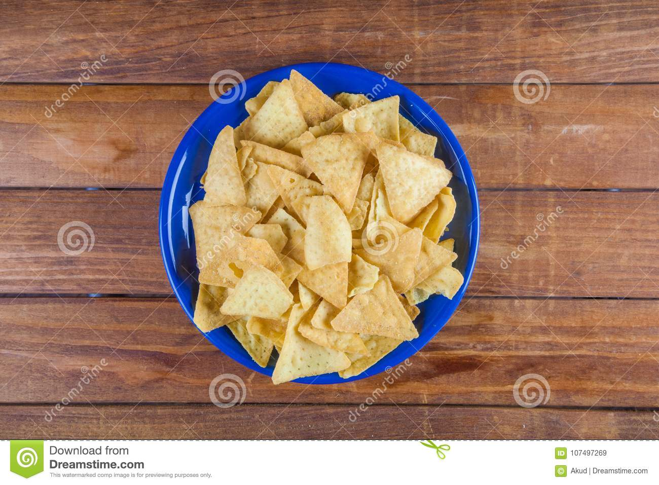 nachos corn chips on wooden talbe stock image image of unhealthy