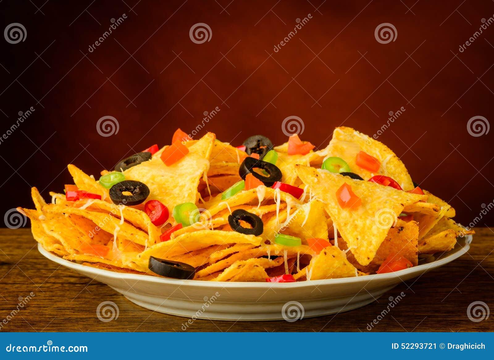 Chili Cheese Nachos Fast Food