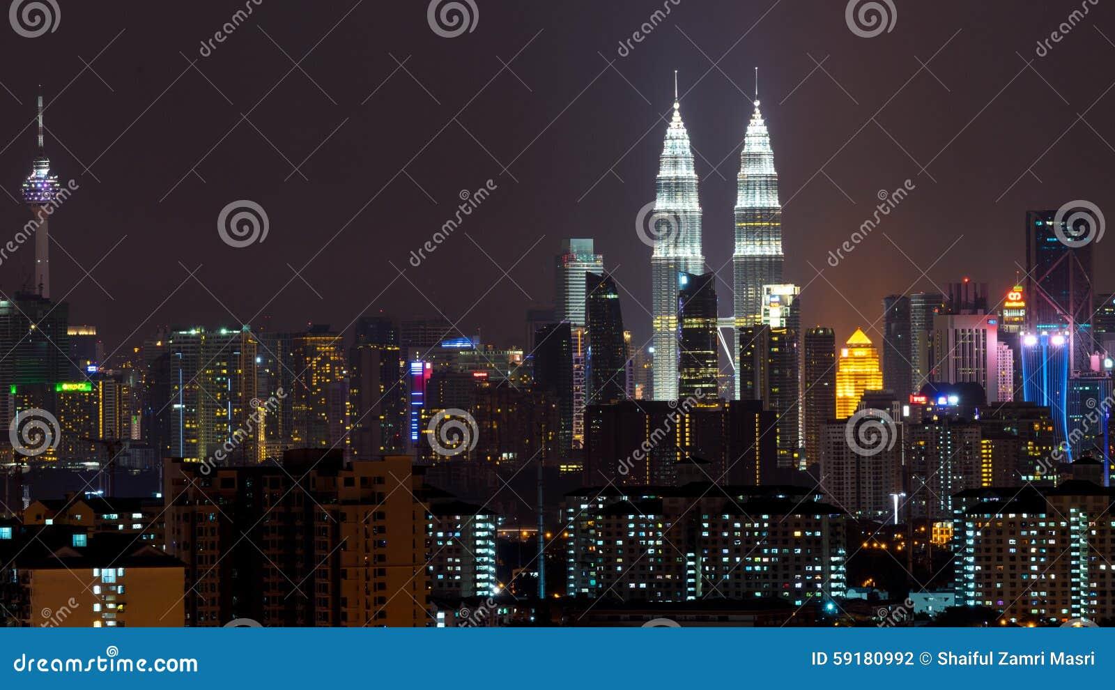 Nacht in Kuala Lumpur, Maleisië