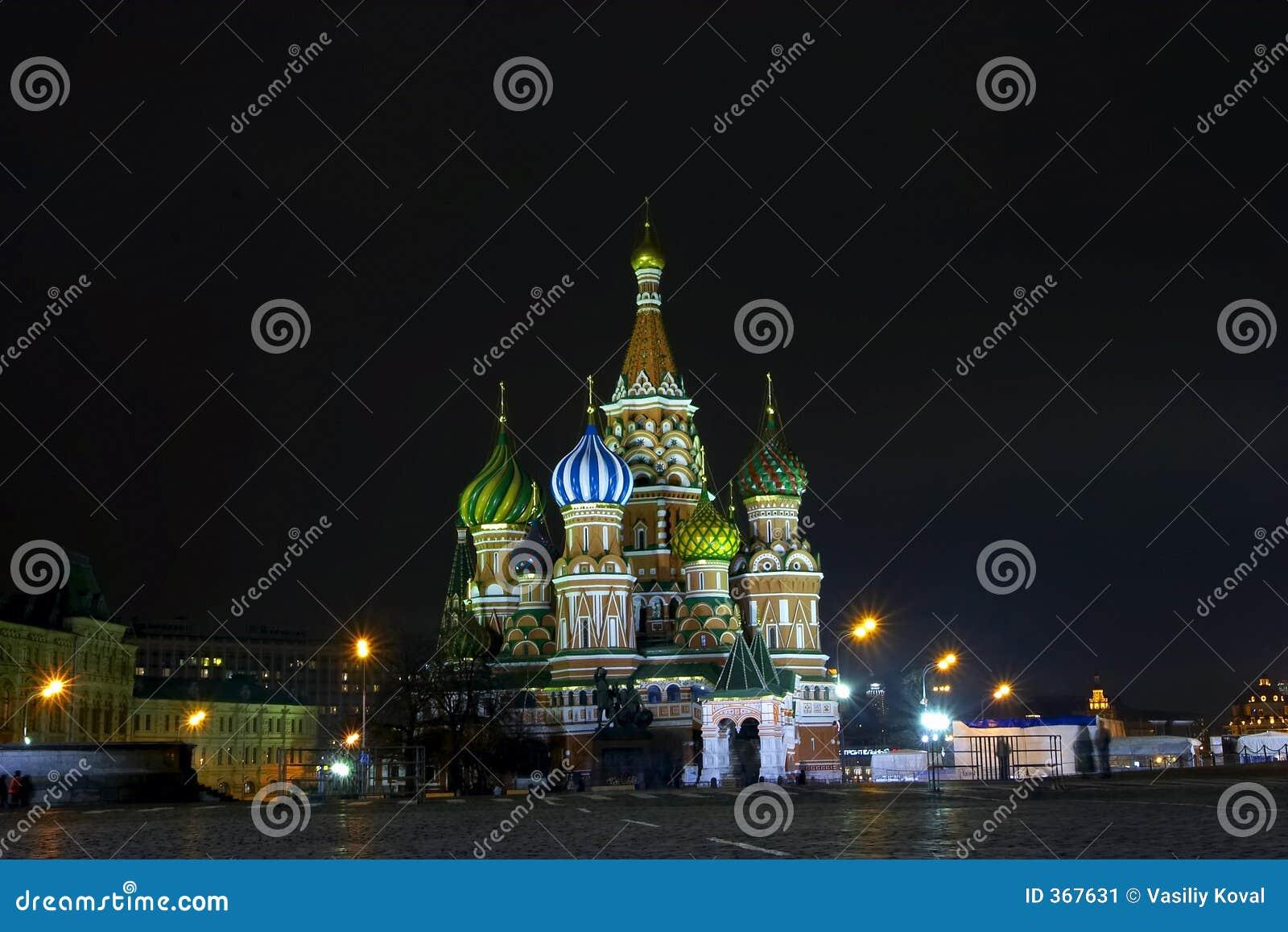 Nacht Moskou