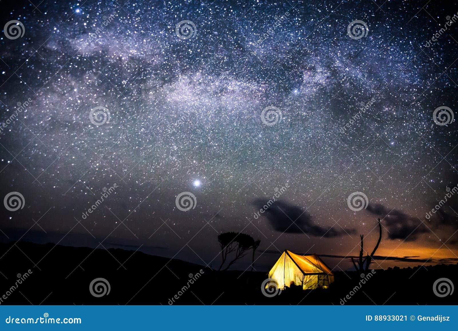Nacht op Kilimanjaro