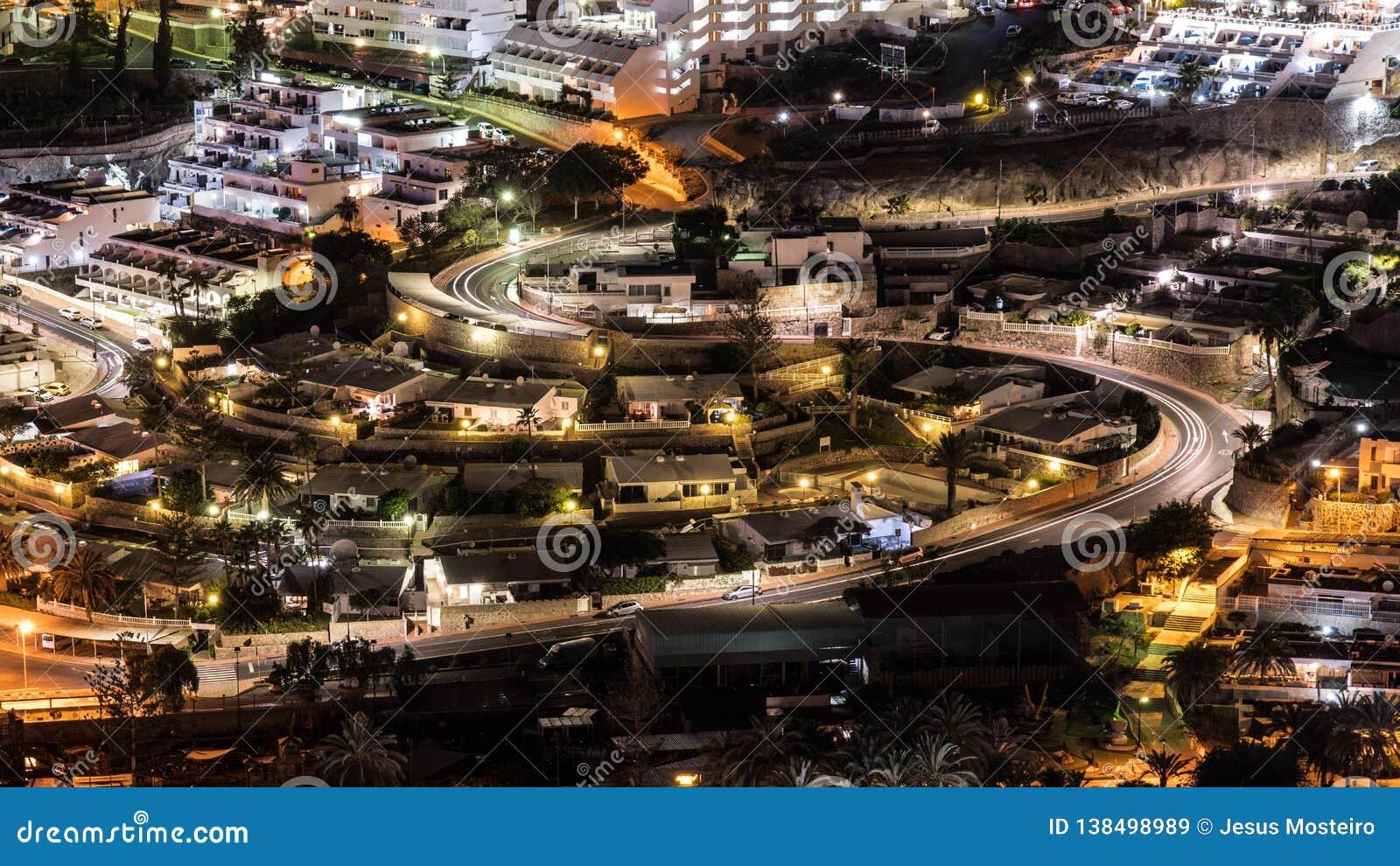 Nacht Puerto Rico, Kanarische Insel