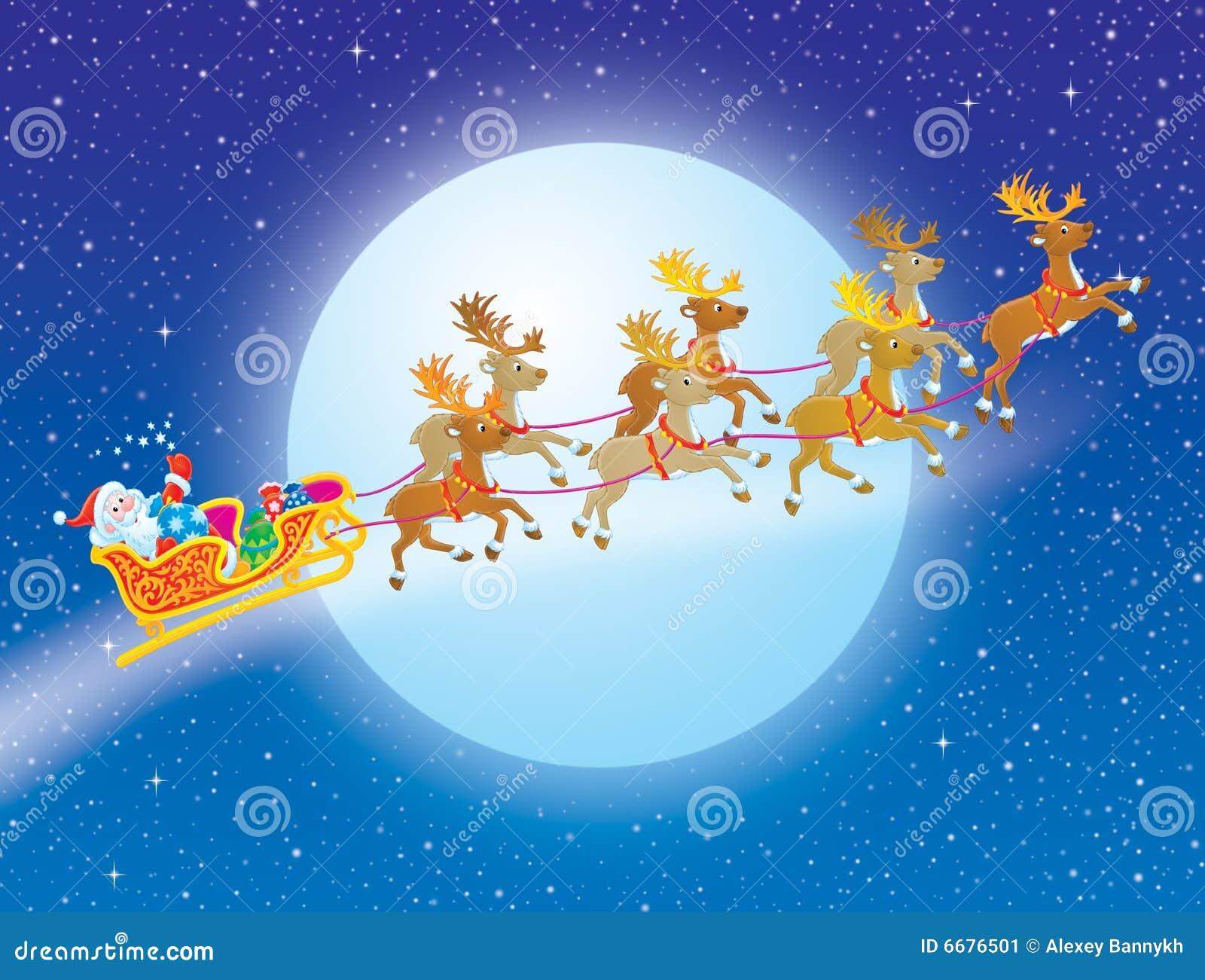 nacht vor weihnachten stockbild bild 6676501