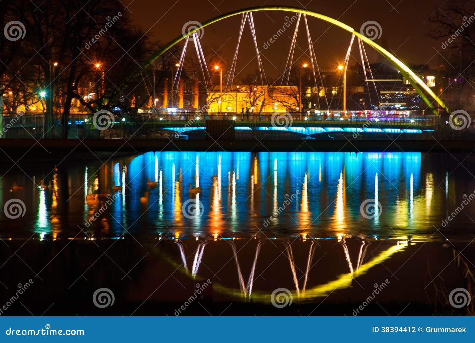 Nacht in Wroclaw