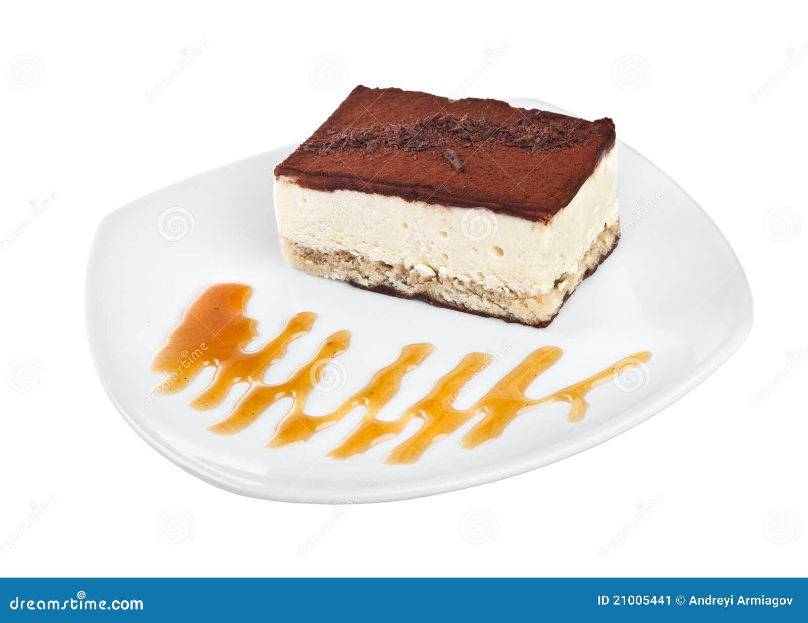 Nachtisch Kuchen Stockbild Bild Von Kochen Sahne 21005441