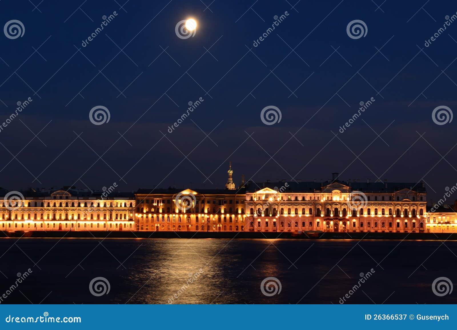 Nachtkai (St Petersburg, Russland)