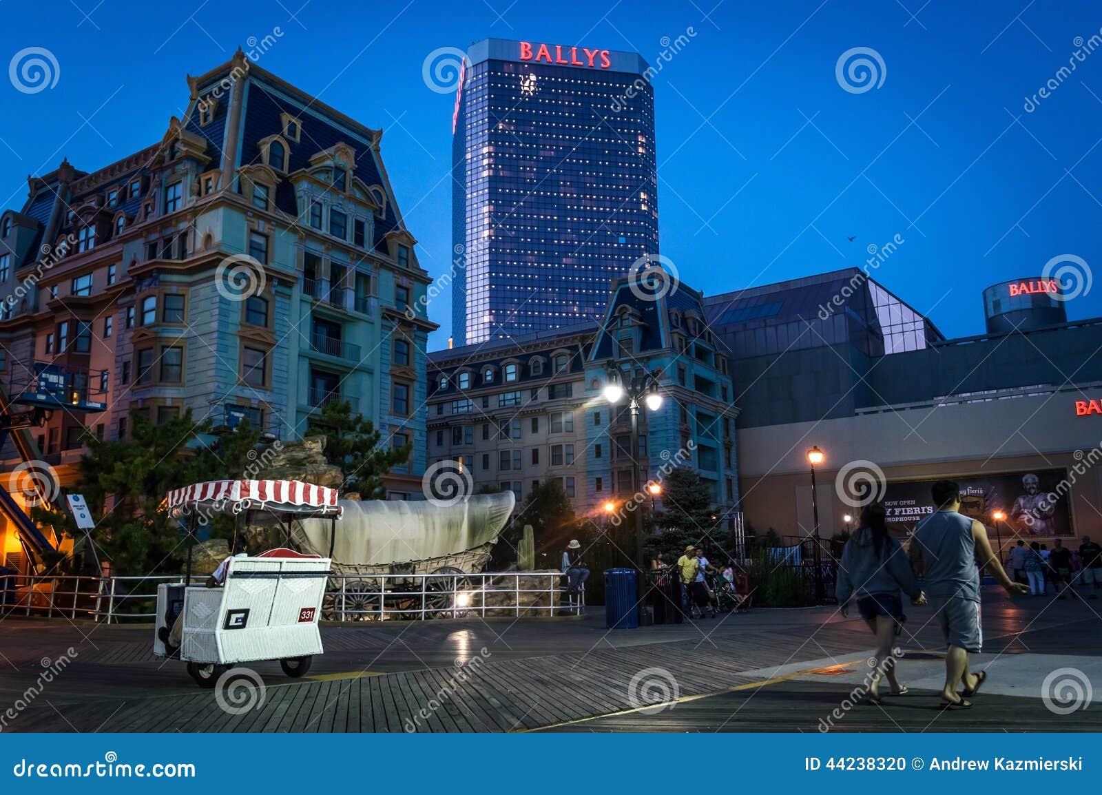 Nachtmening Atlantic City
