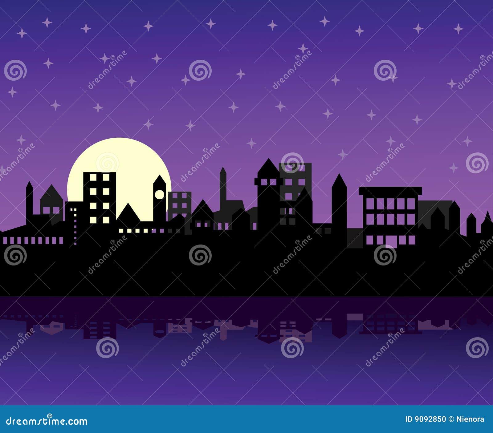 Nachtstadt