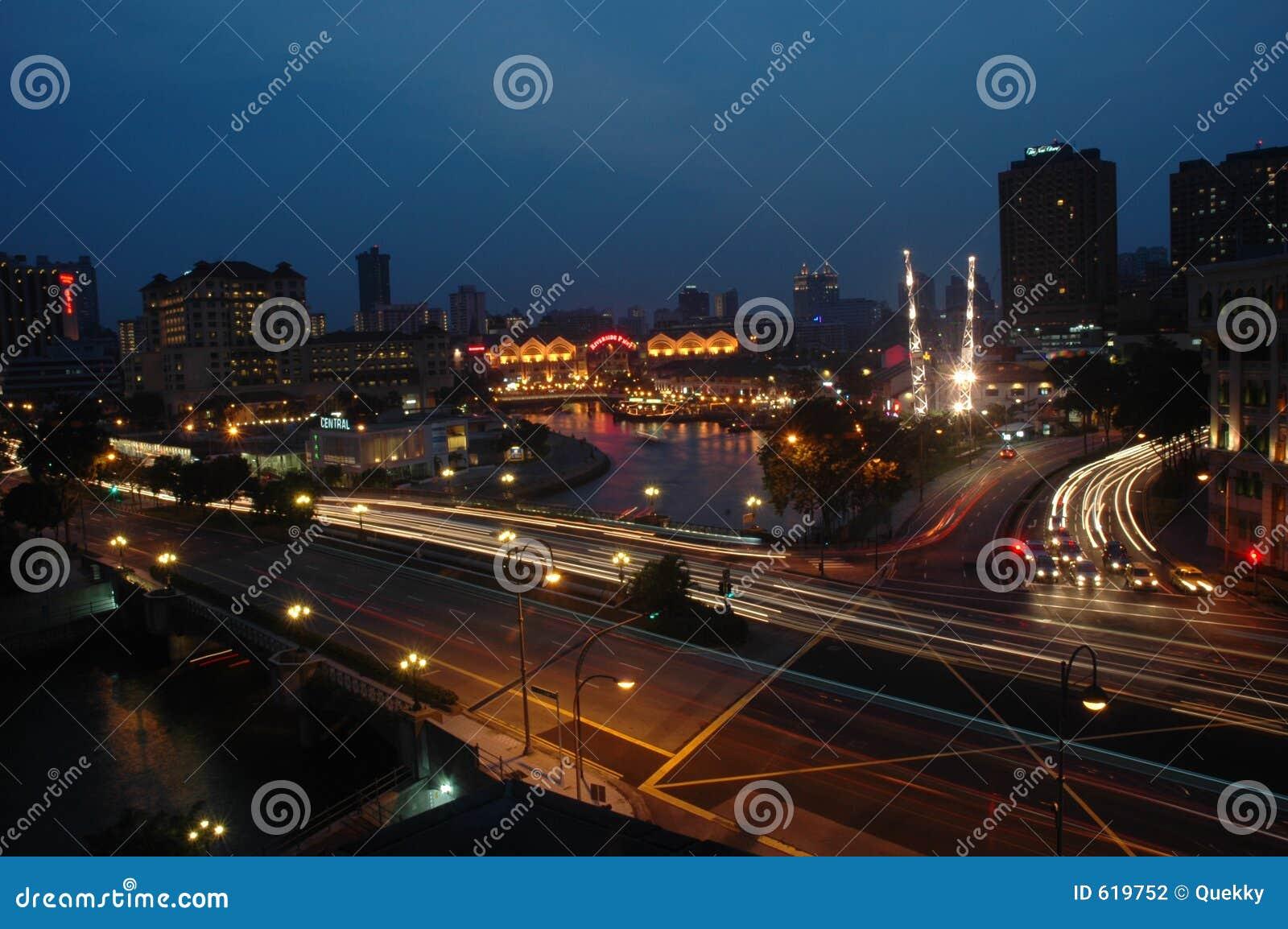 Nachtzeitstadt