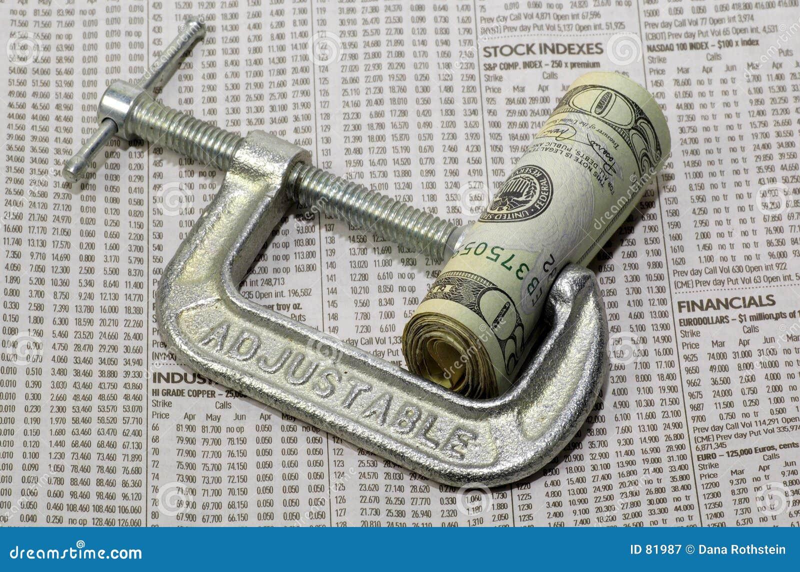 Naciśnij finansowego