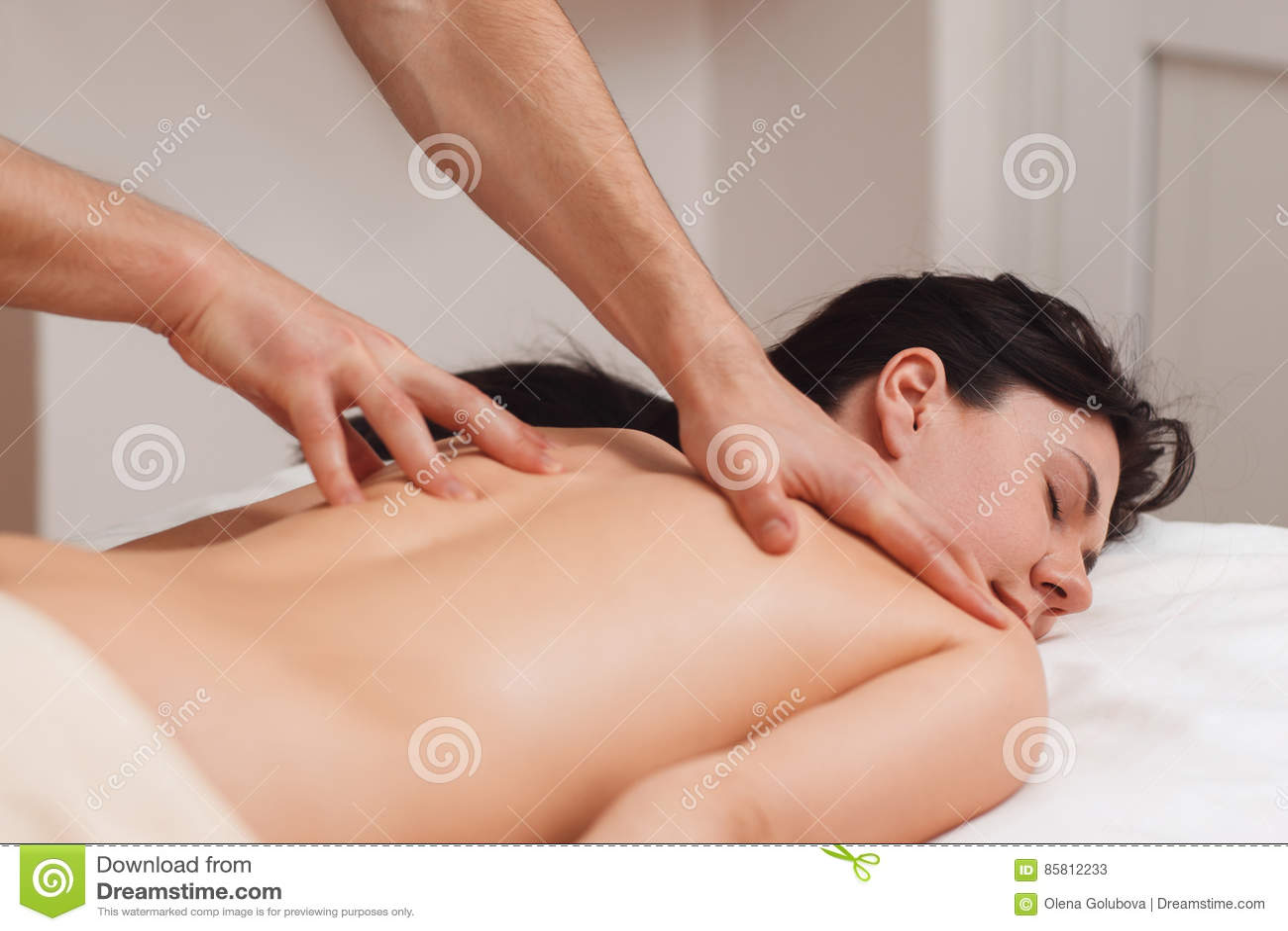 Nackte massage