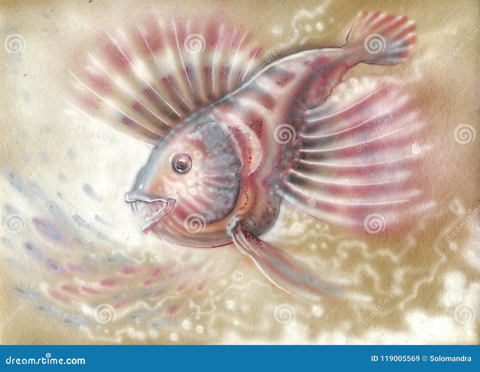 Nacreous small fish