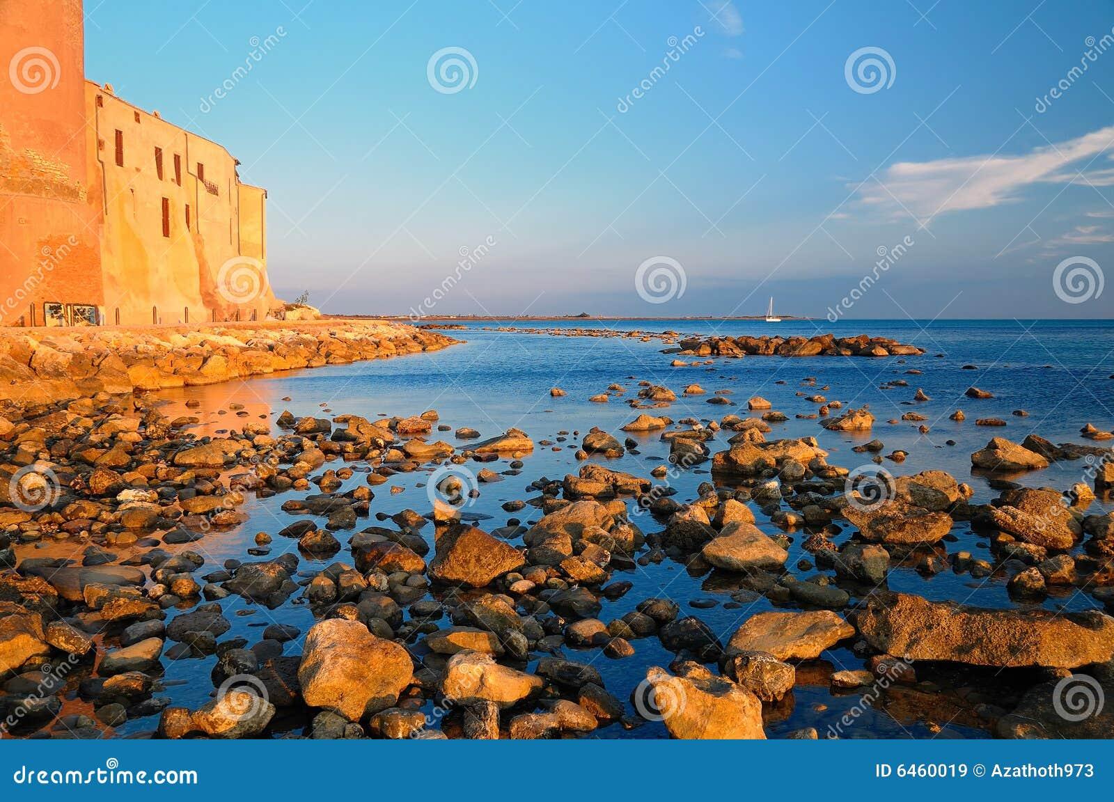 Nad morze krajobrazu
