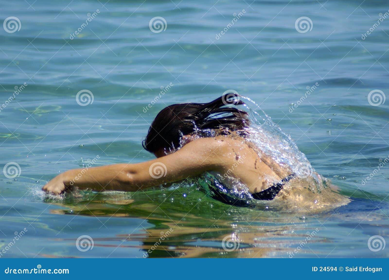 Nadada e mergulho
