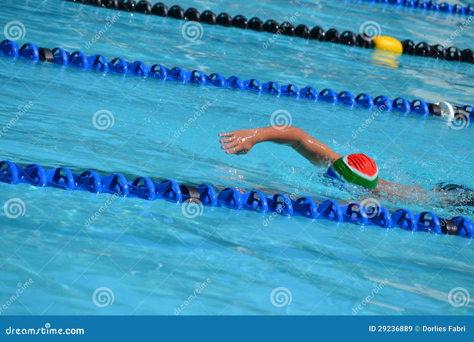 Download Nadador imagem de stock. Imagem de mão, competição, braço - 29236889