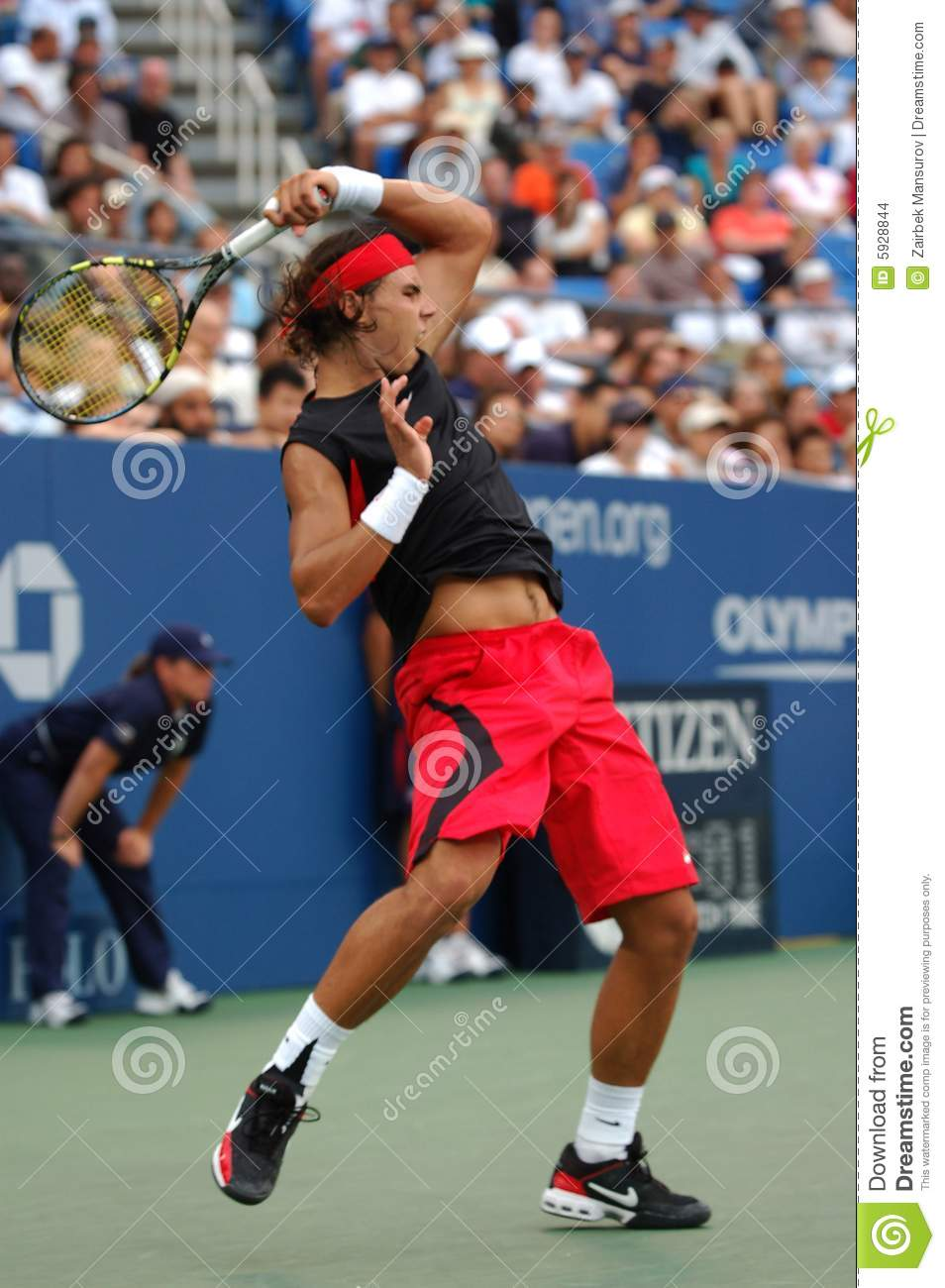 Nadal aux USA ouvrent 2006 (21)