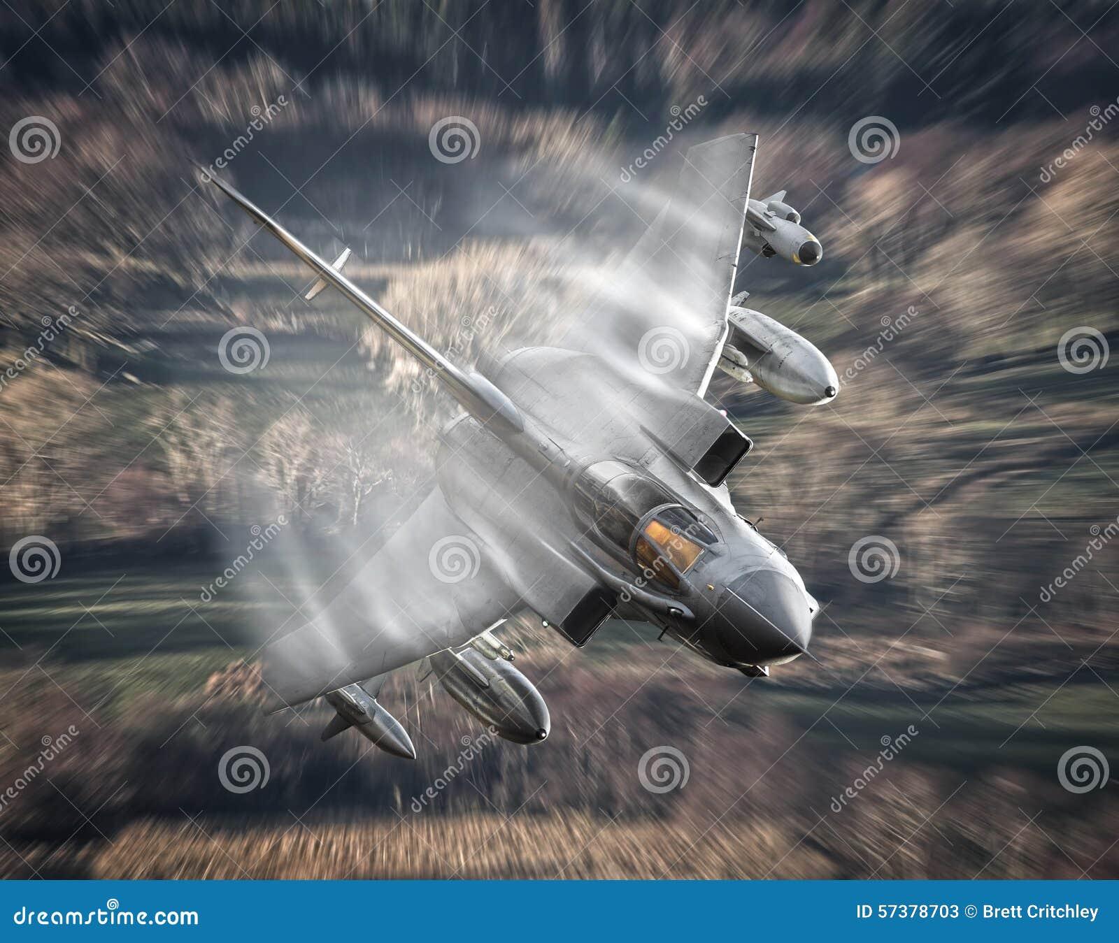 Naddźwiękowy dżetowy samolot
