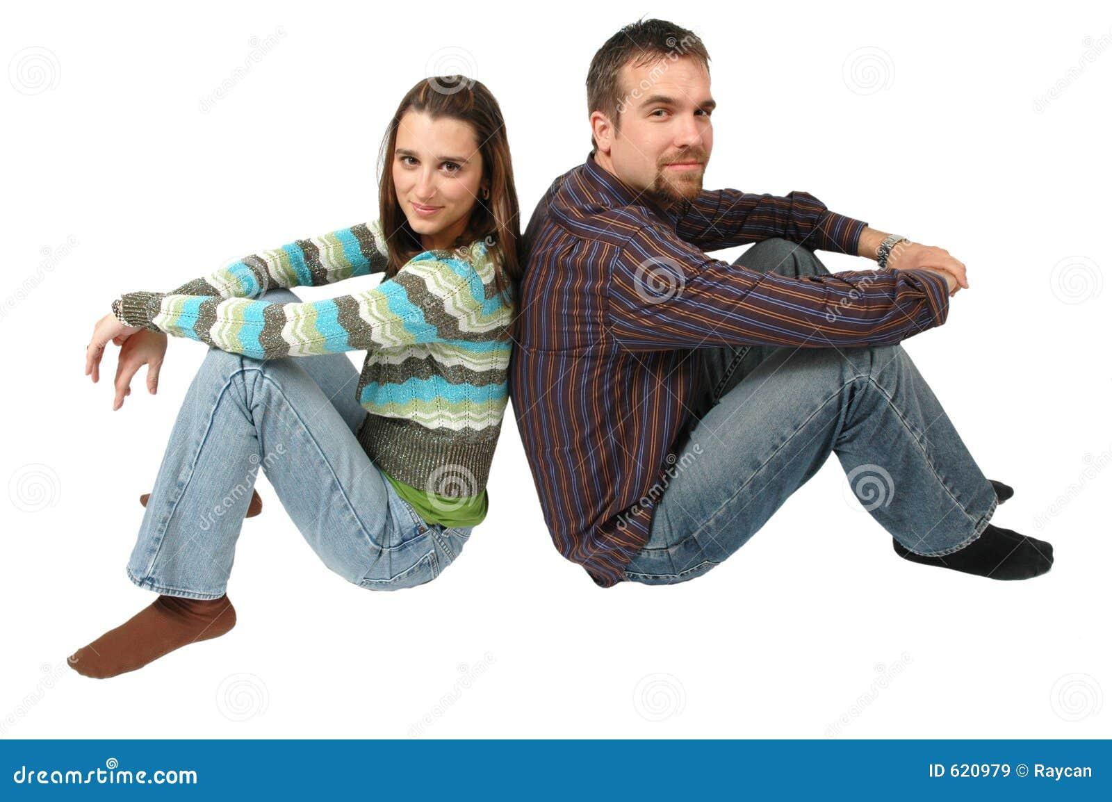 Nadenkend Paar