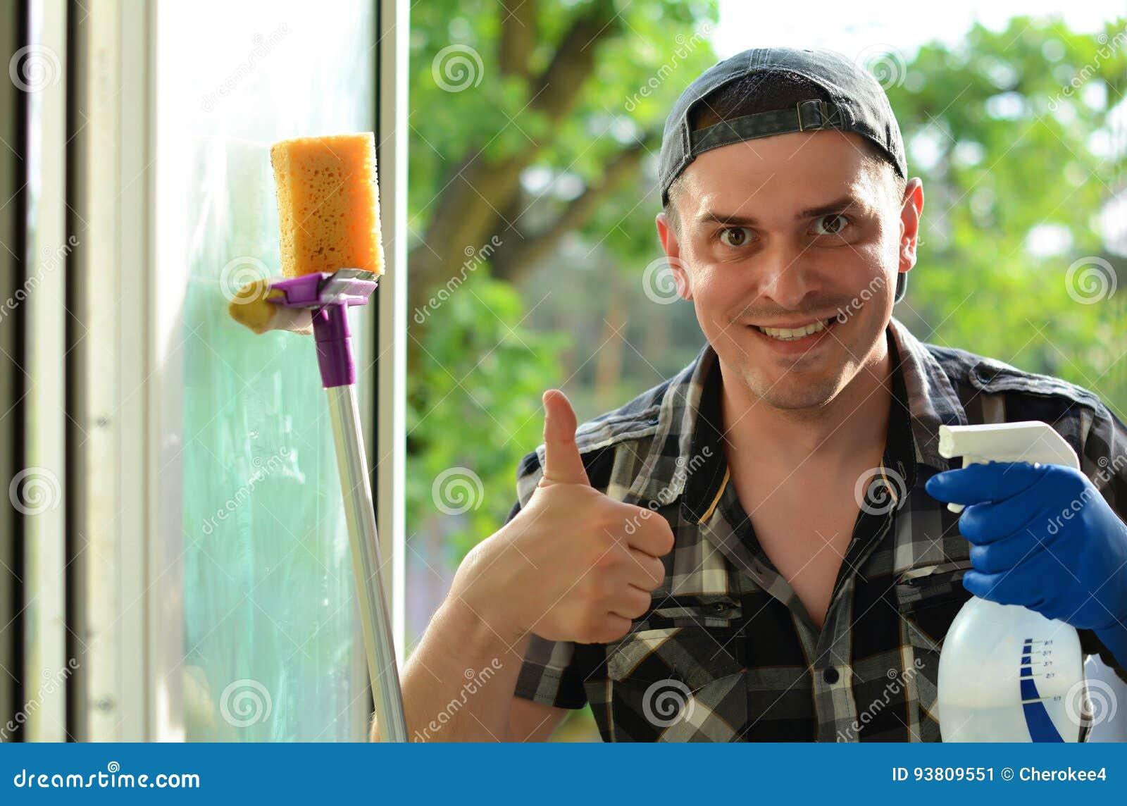 Nadokienna płuczka Fachowa cleaning firma