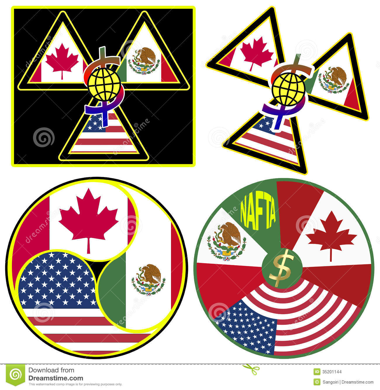 Nafta Symbols Stock Illustration Illustration Of Trade 35201144