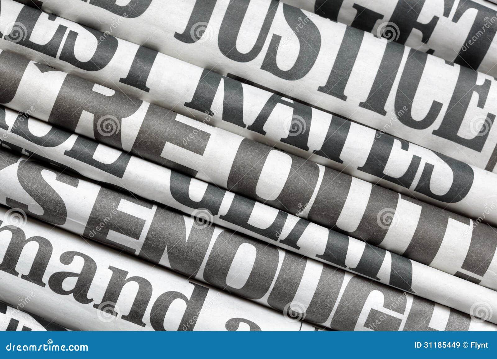 Nagłówki prasowi